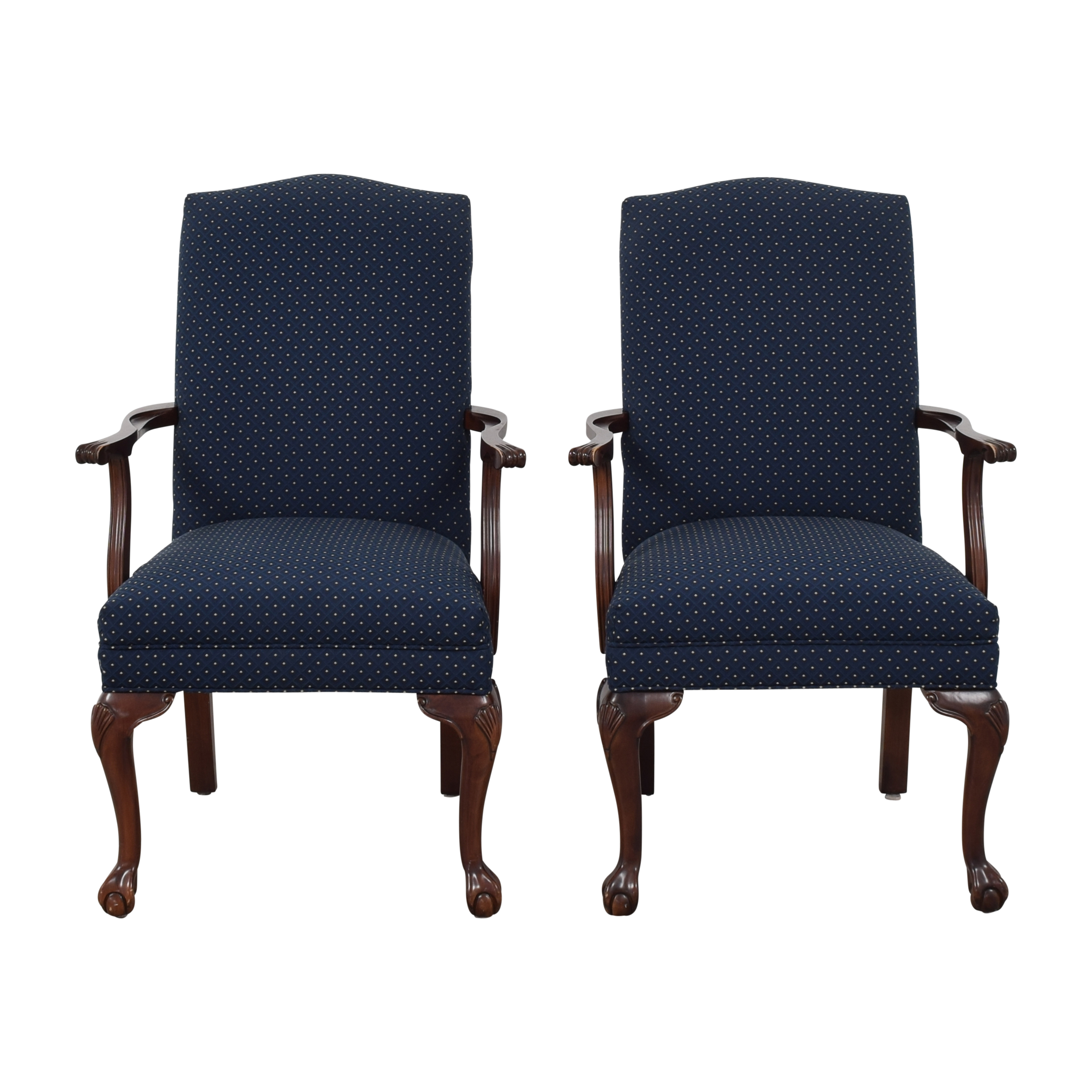 Ethan Allen Ethan Allen Chippendale Dining Arm Chairs coupon