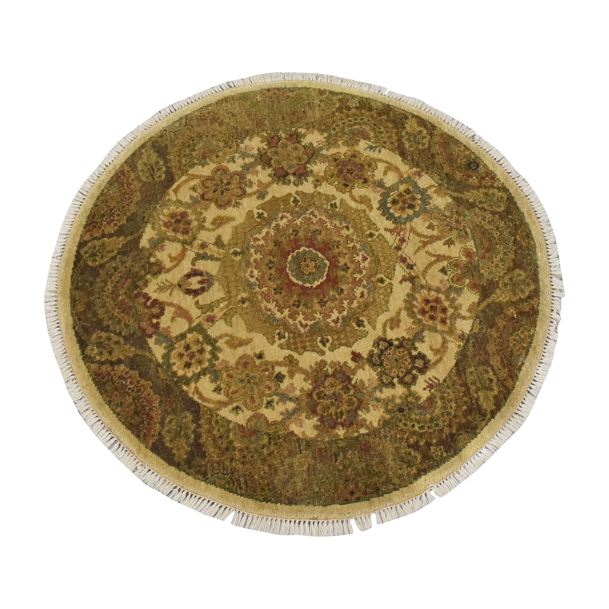 Rugs By Rohit Rugs By Rohit Opulence Collection Round Carpet coupon
