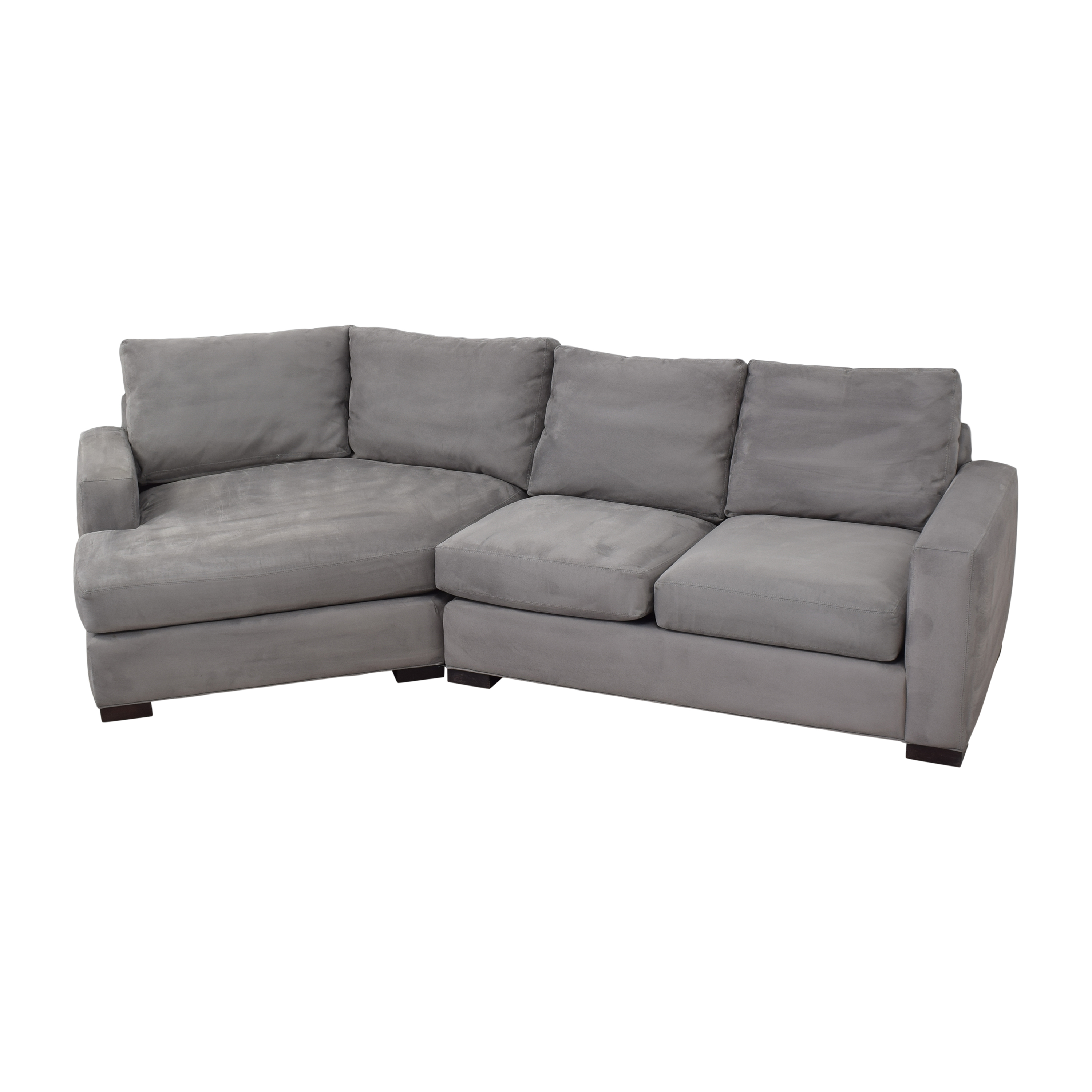 shop Room & Board Metro Sectional with Angled Chaise Room & Board Sectionals