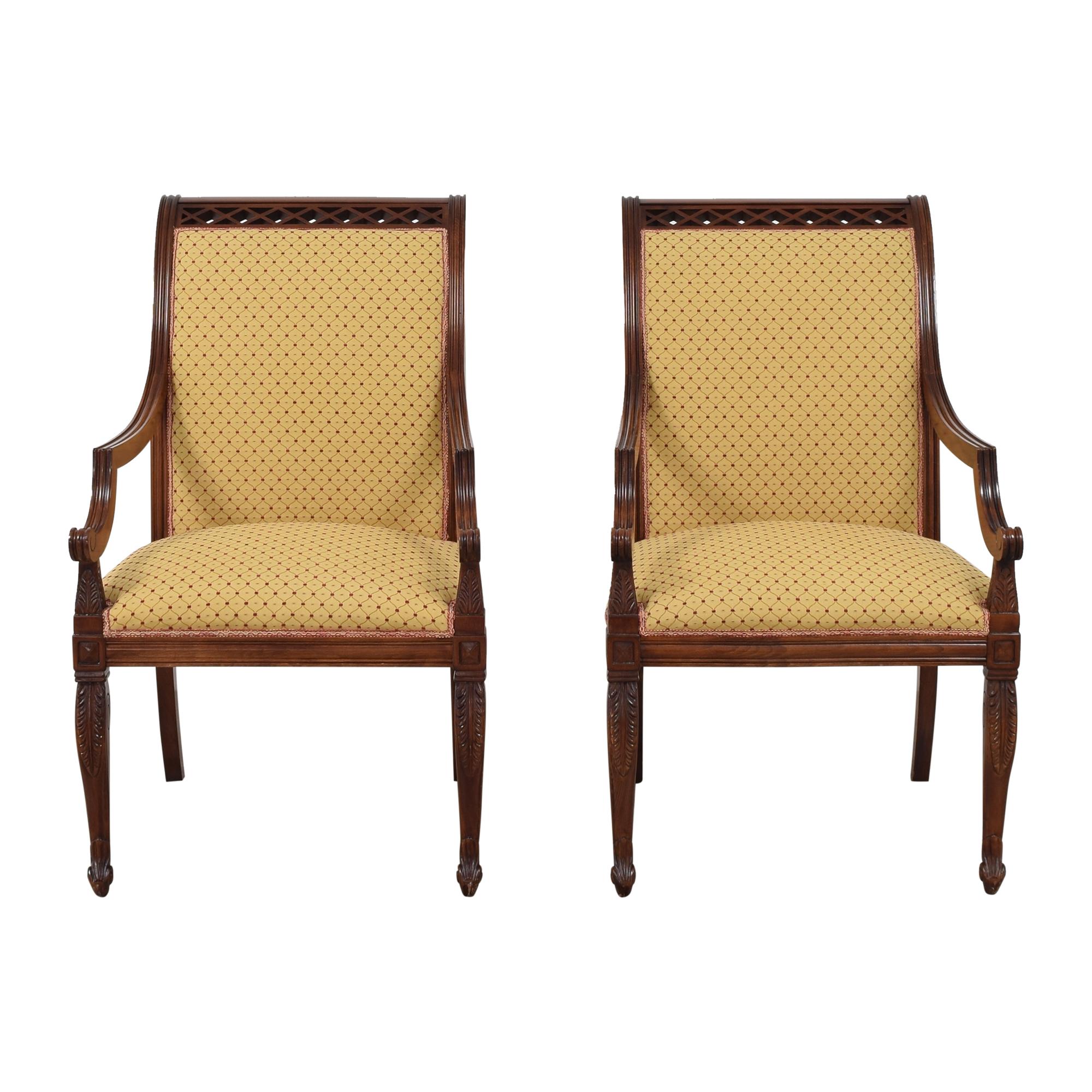KPS Furnishings KPS Furnishings Custom Dining Arm Chairs for sale
