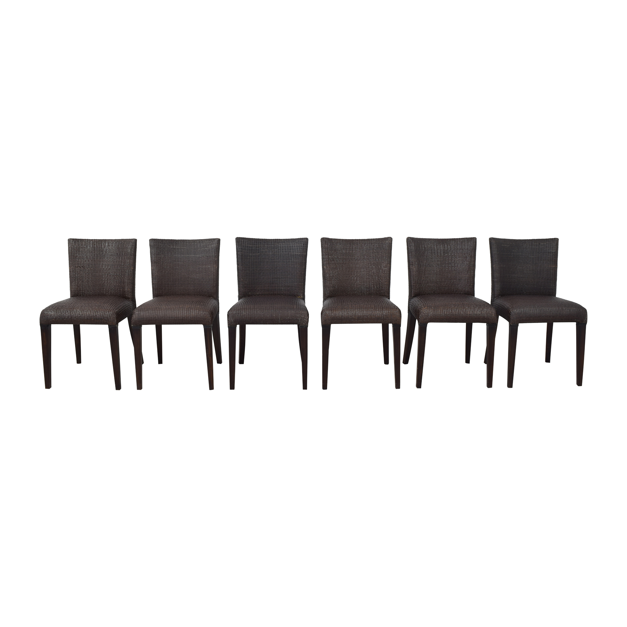 Gaudions Gaudions Woven Dining Side Chairs ct