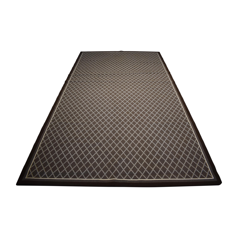 ABC Carpet & Home ABC Carpet & Home Diamond Patterned Rug price