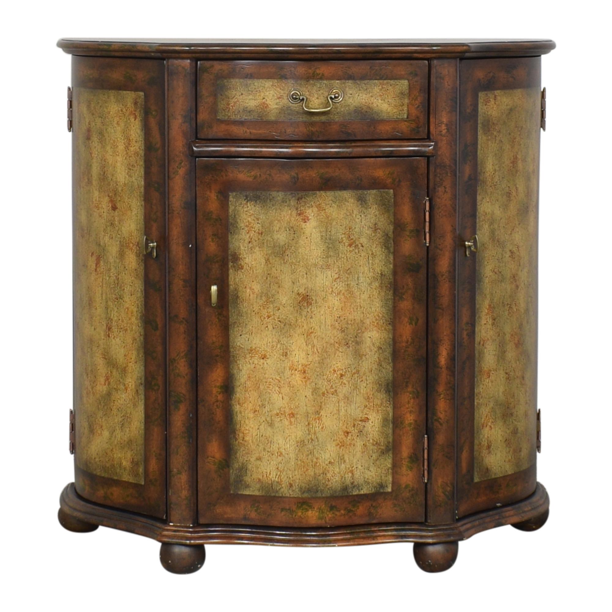Vintage-Style Demilune Buffet / Storage
