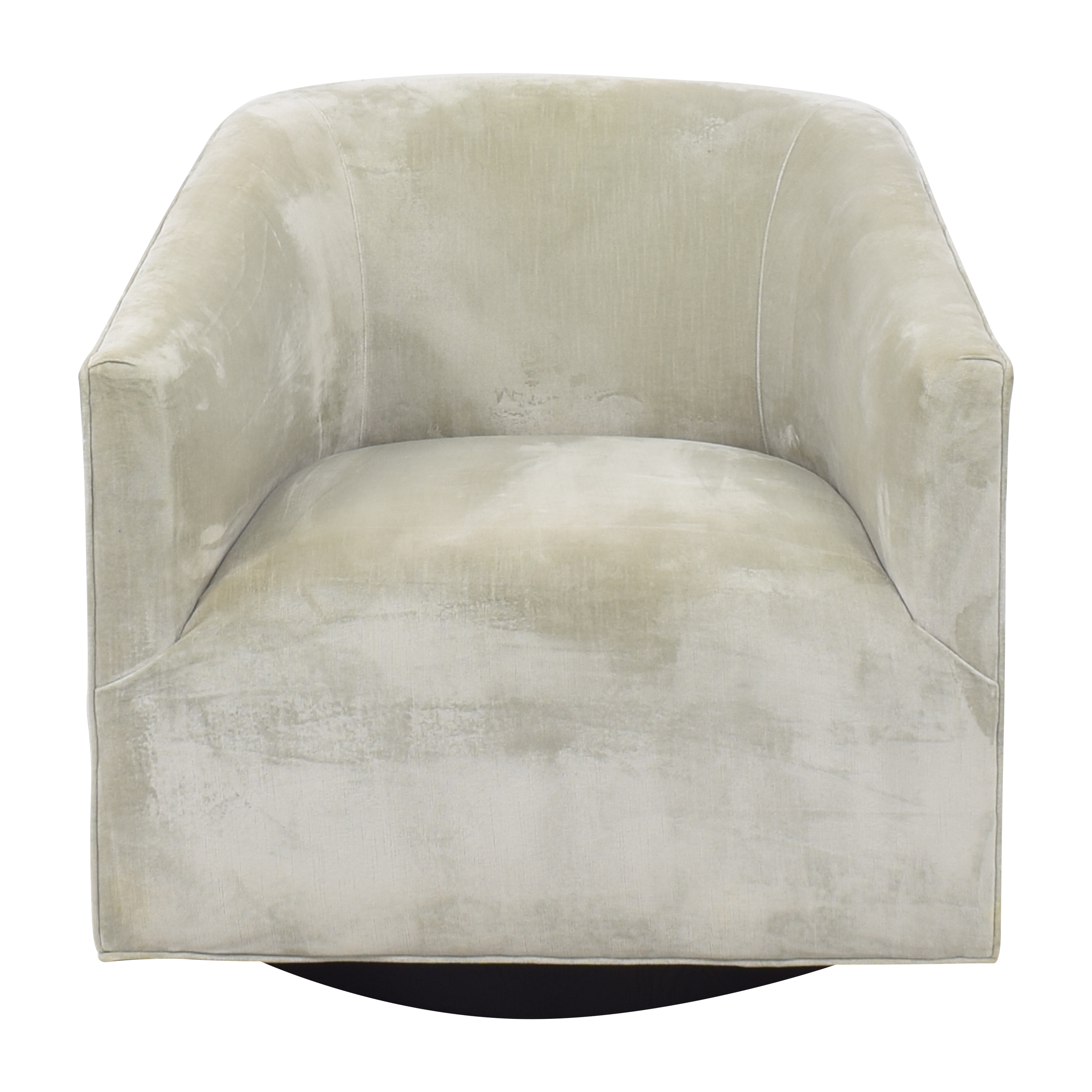 Restoration Hardware Restoration Hardware 1950s Italian Shelter Arm Swivel Chair for sale
