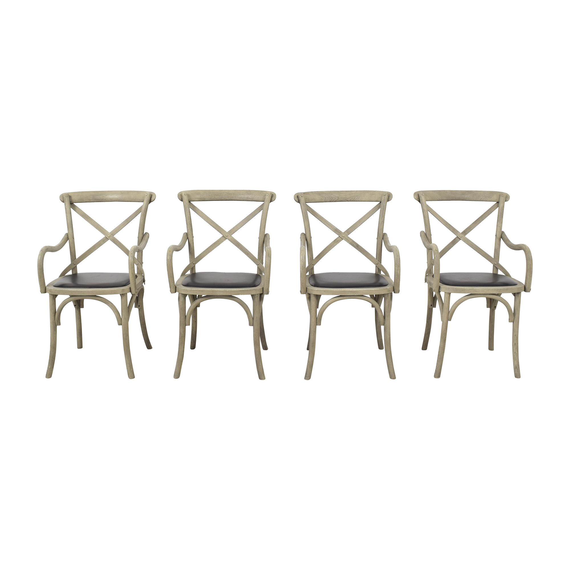 Restoration Hardware Restoration Hardware Madeleine Dining Armchairs used