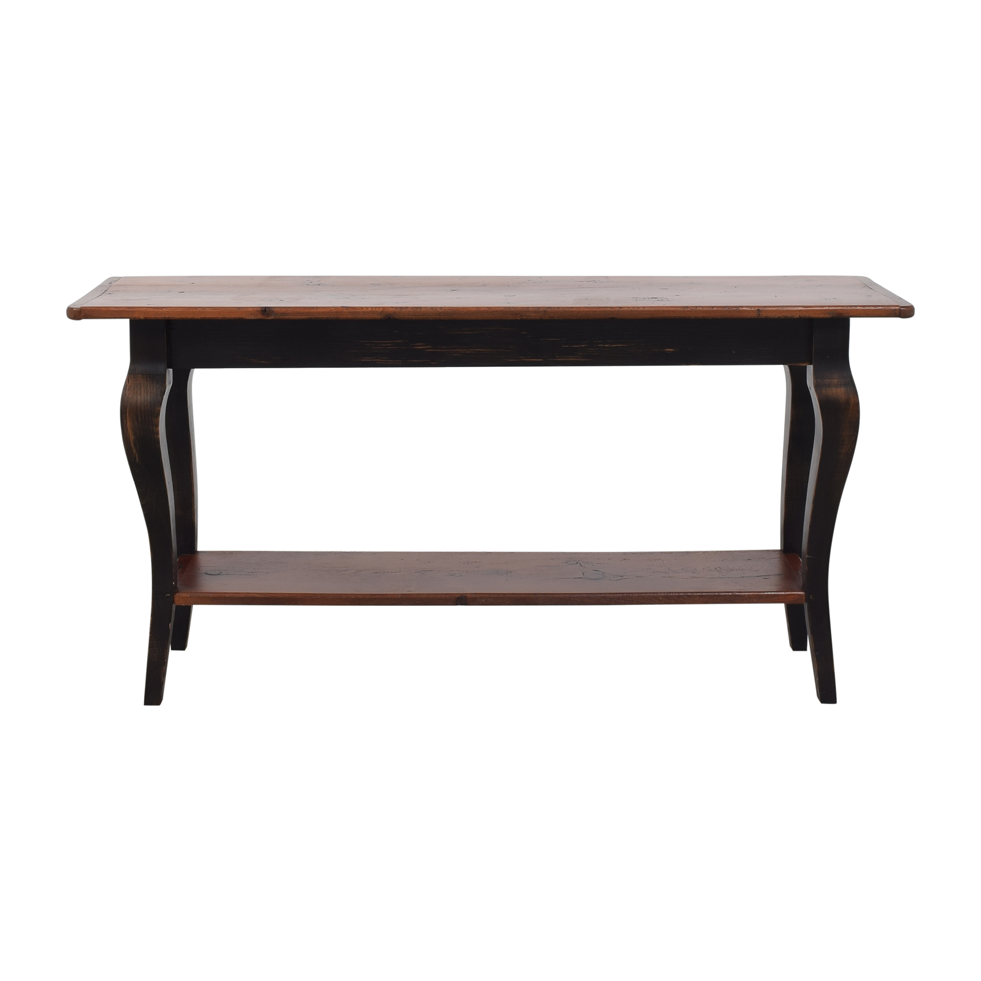 Vintage-Style Console Table