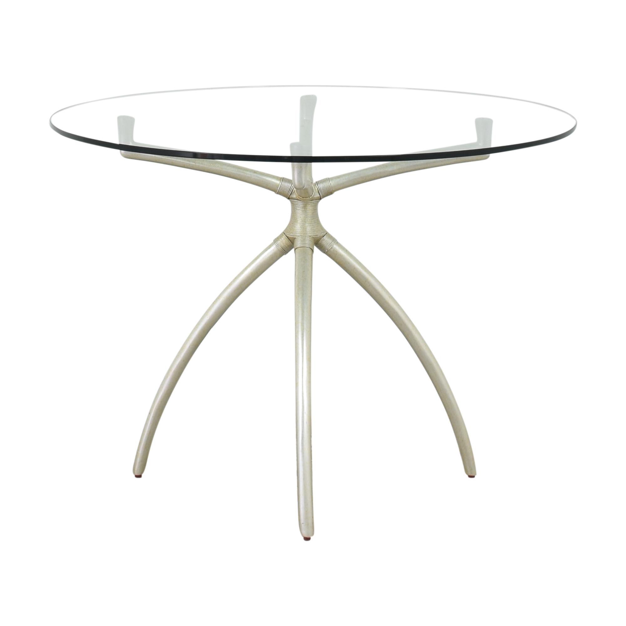 Stanley Furniture Stanley Furniture Hovely Pedestal Dining Table silver