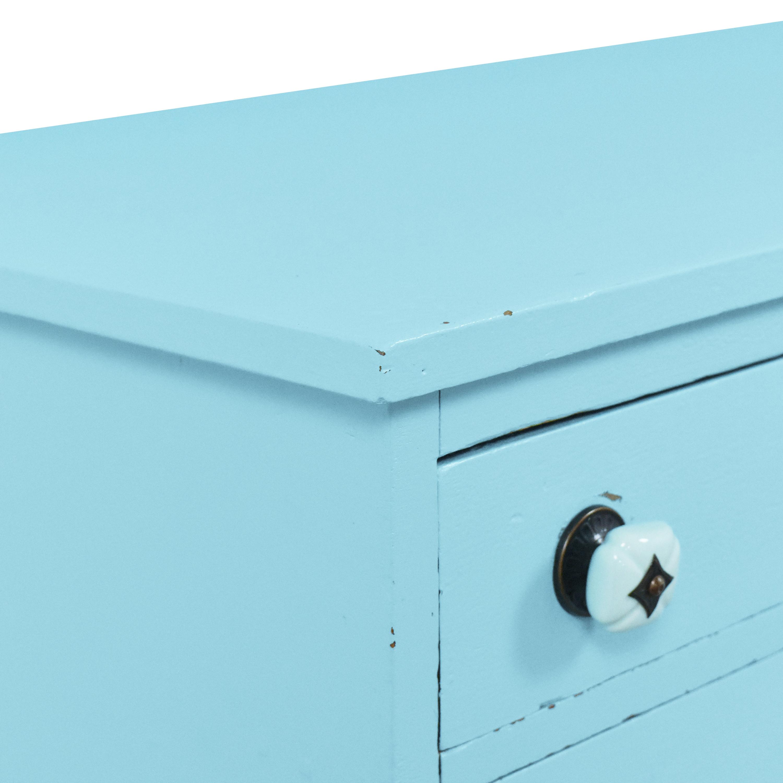 Painted Two Door Storage Cabinet Storage