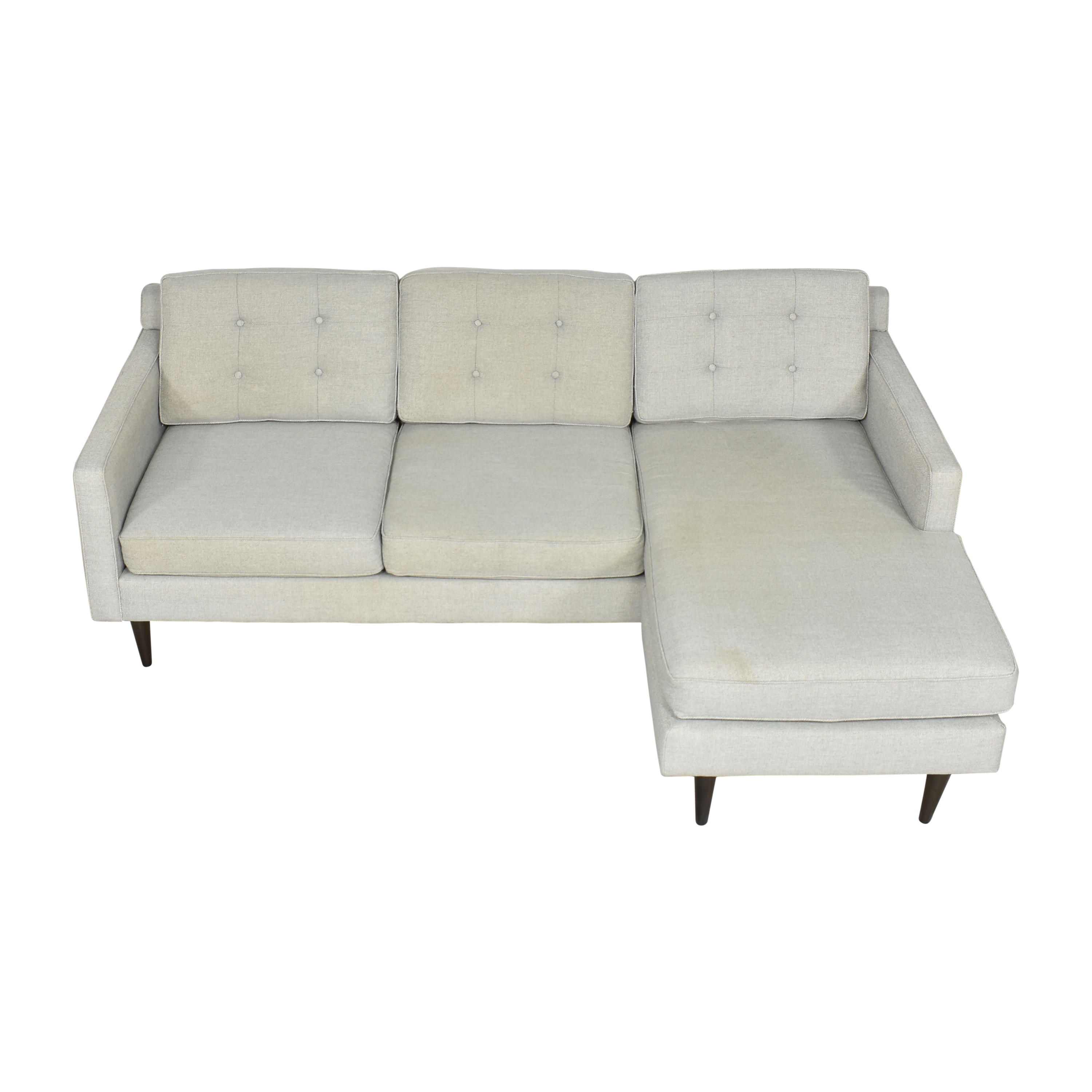 West Elm Drake Reversible Sectional / Sectionals