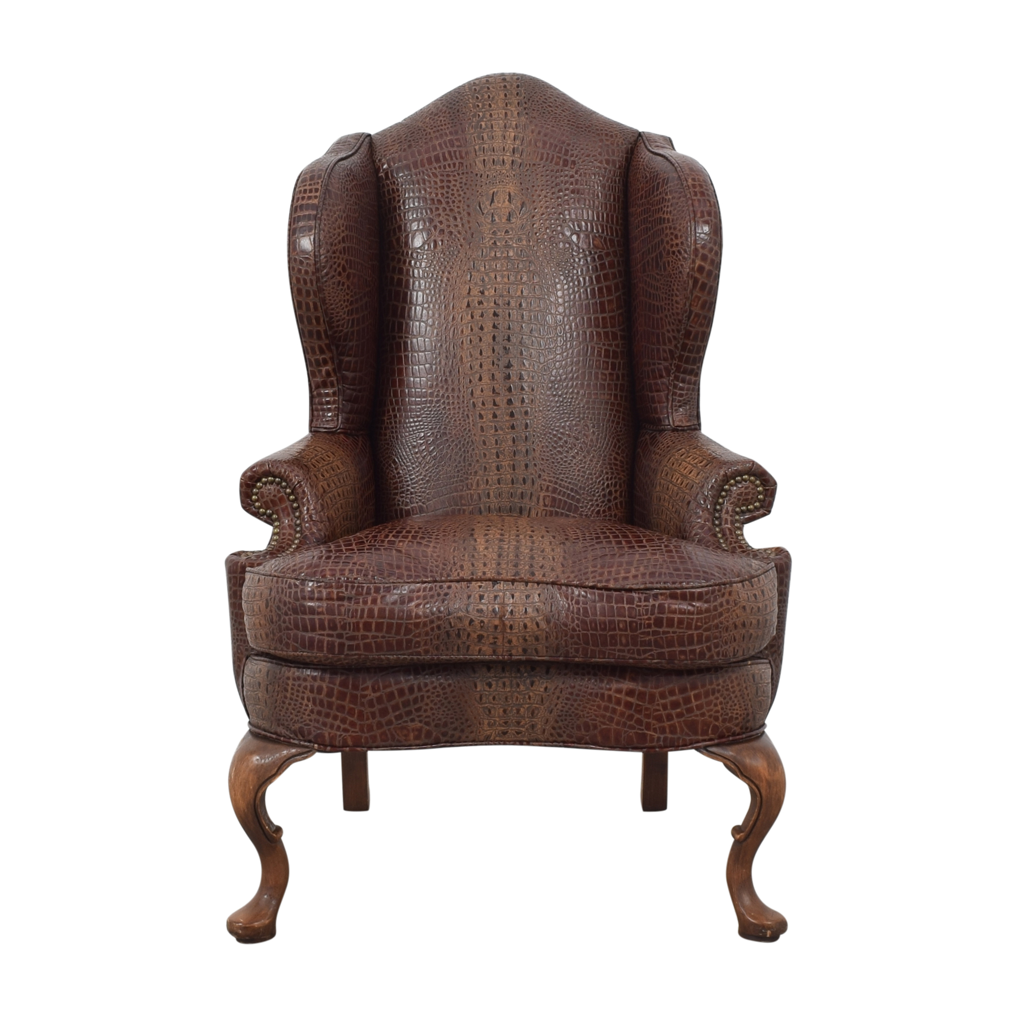 buy Old Hickory Tannery Old Hickory Tannery Wing Chair online