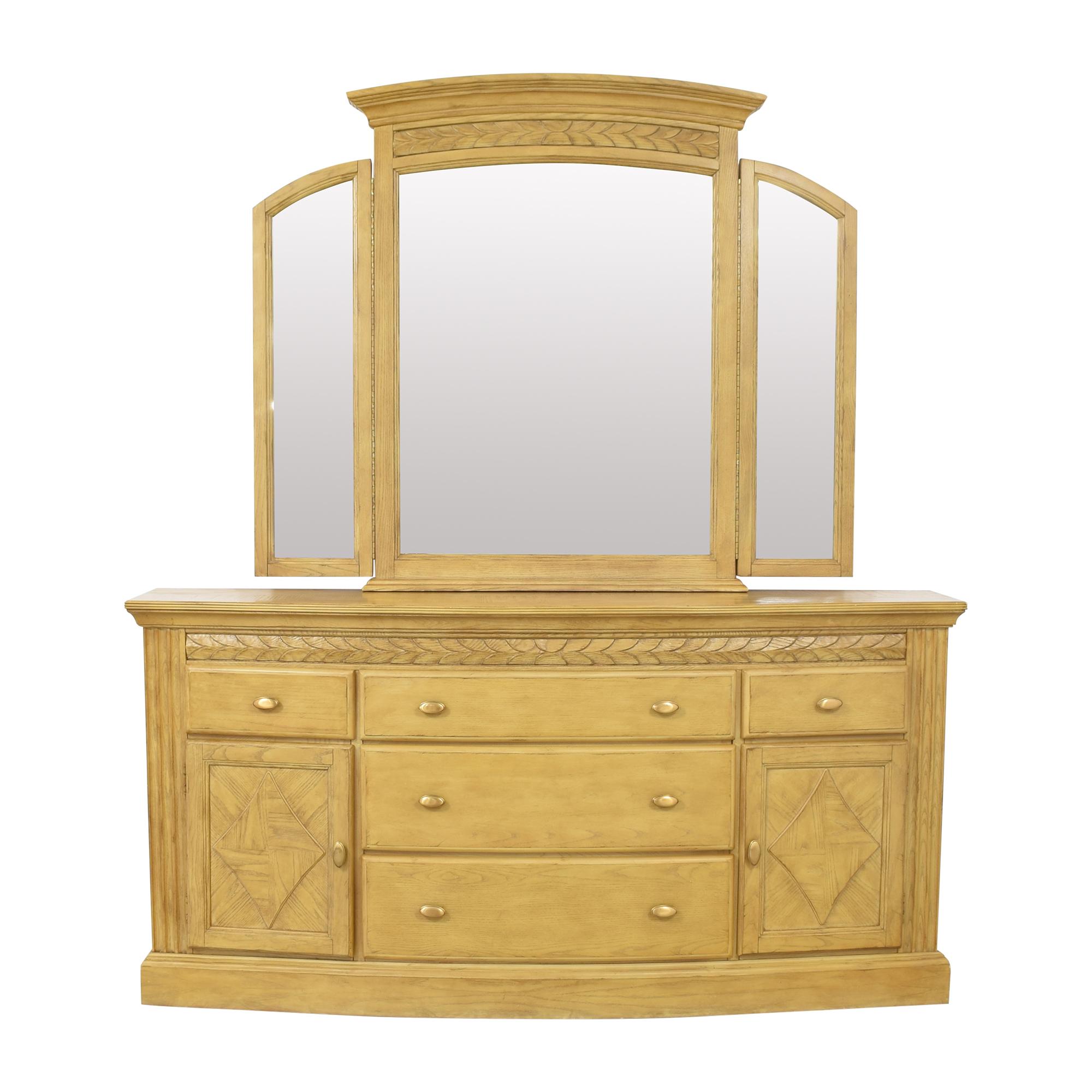 Fairmont Designs Fairmont Designs Triple Dresser with Mirror pa