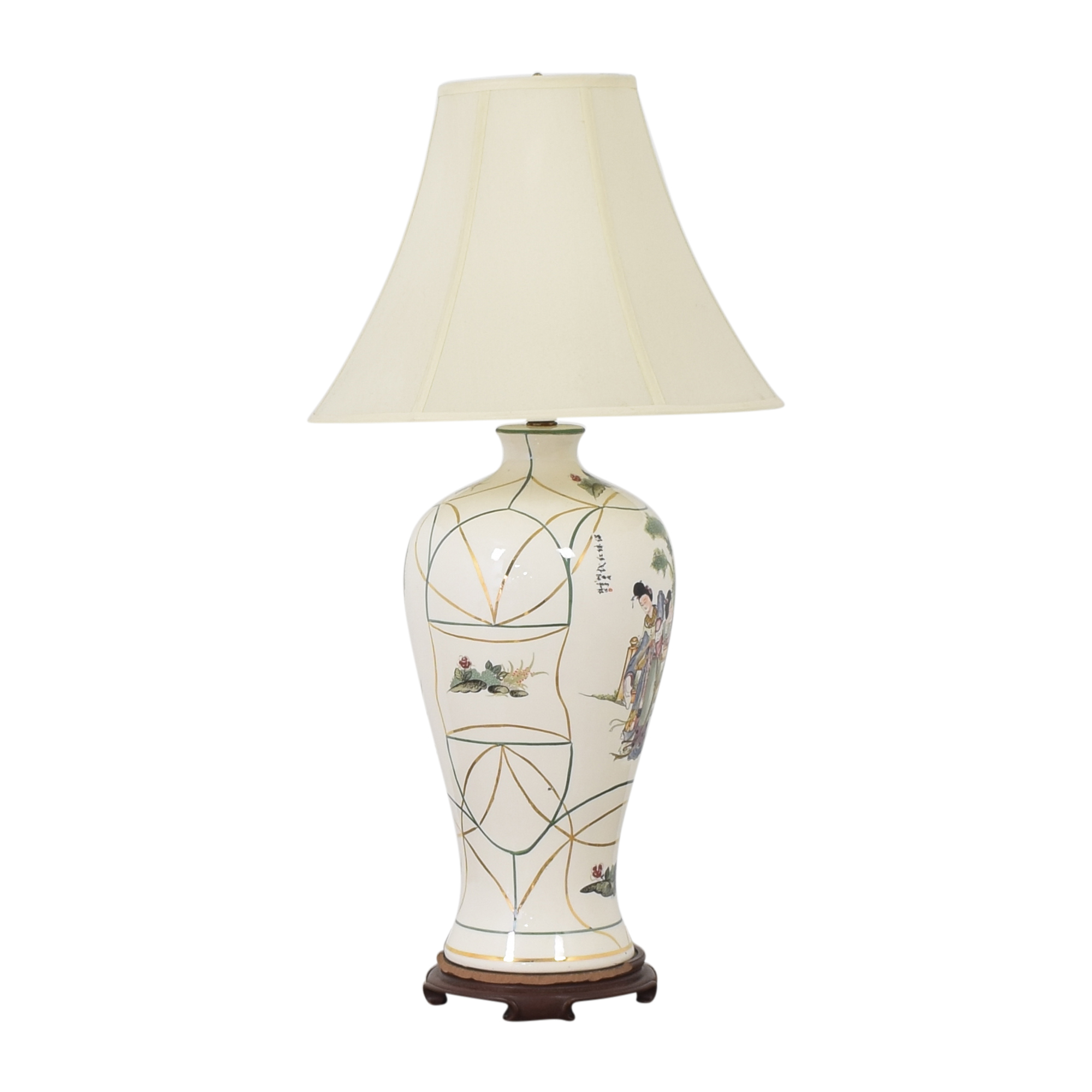 Vase-Style Table Lamp dimensions