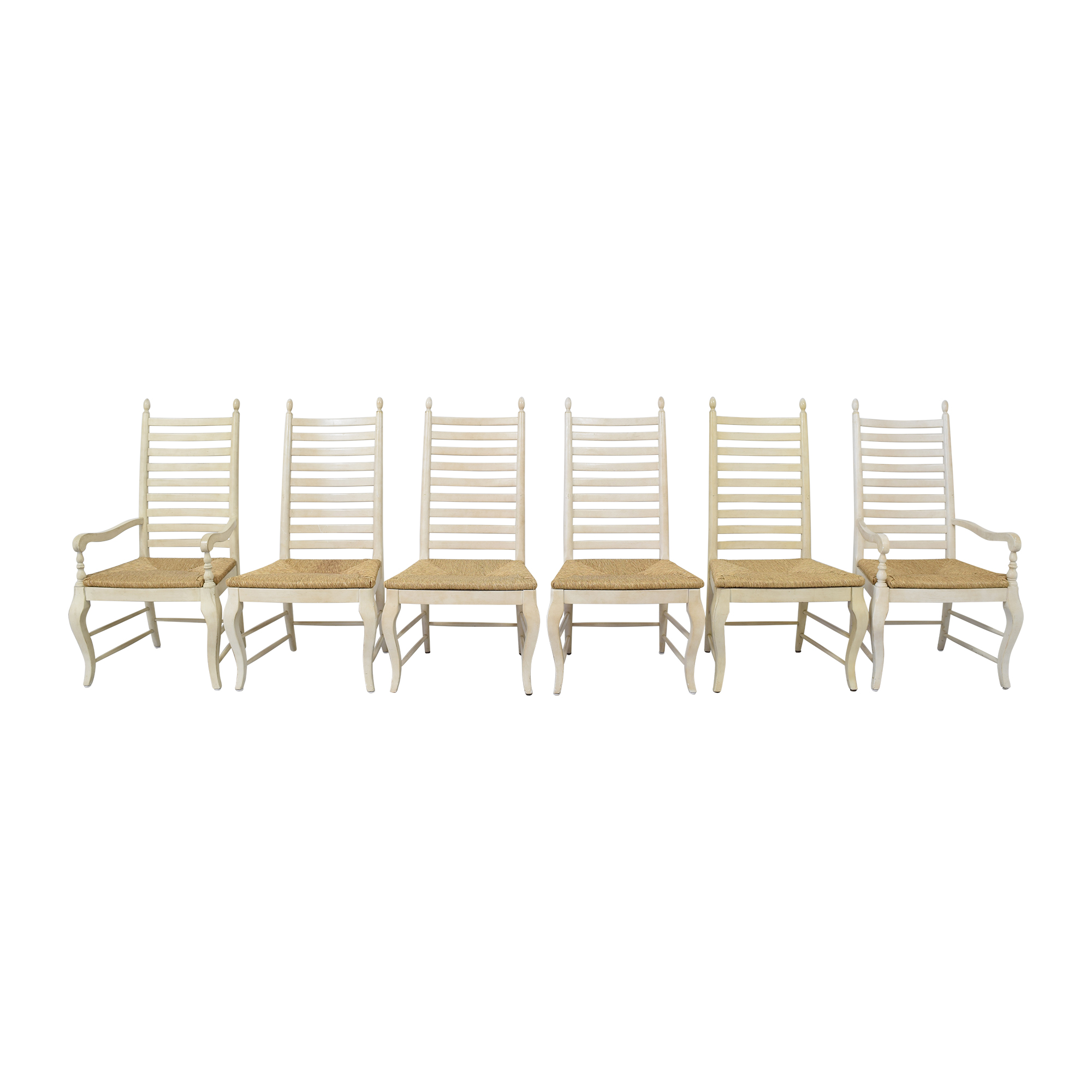 Ethan Allen Ethan Allen Ladder Back Side Chairs Dining Chairs