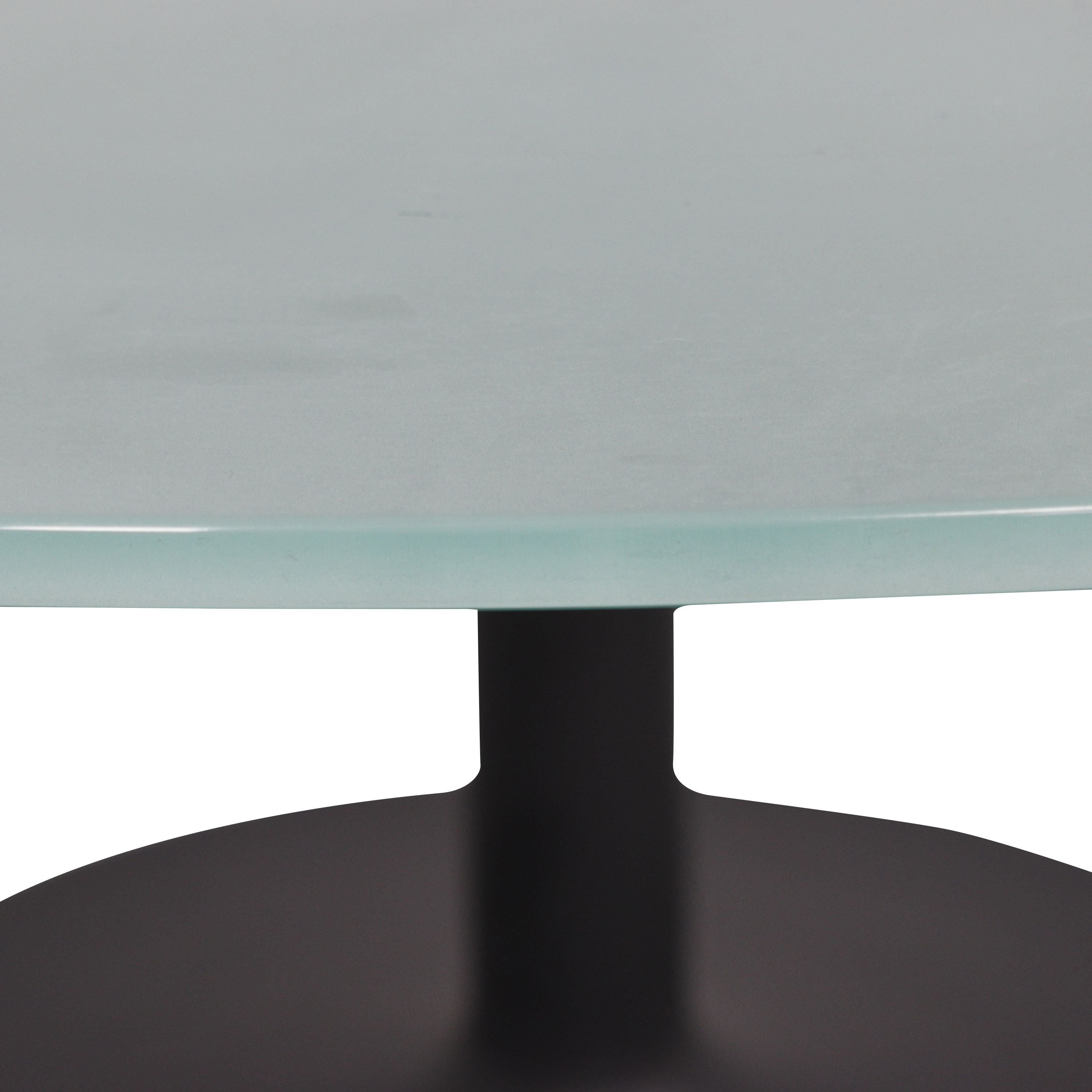 Room & Board Room & Board Aria Round Pedestal Dining Table nyc