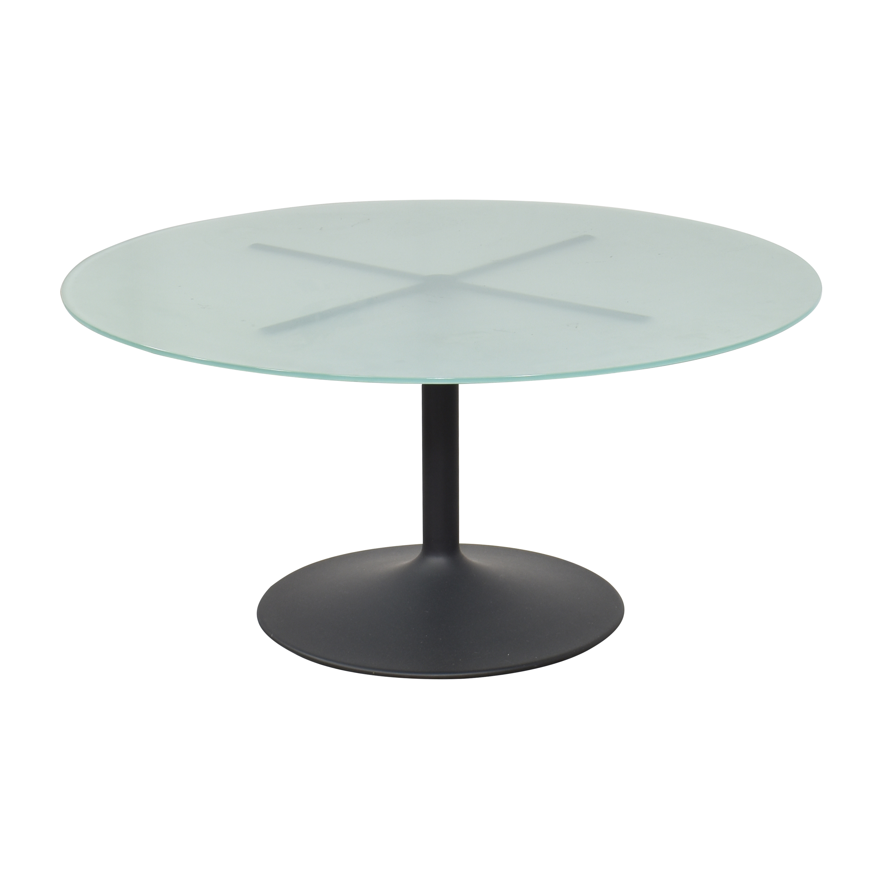 Room & Board Room & Board Aria Round Pedestal Dining Table ct