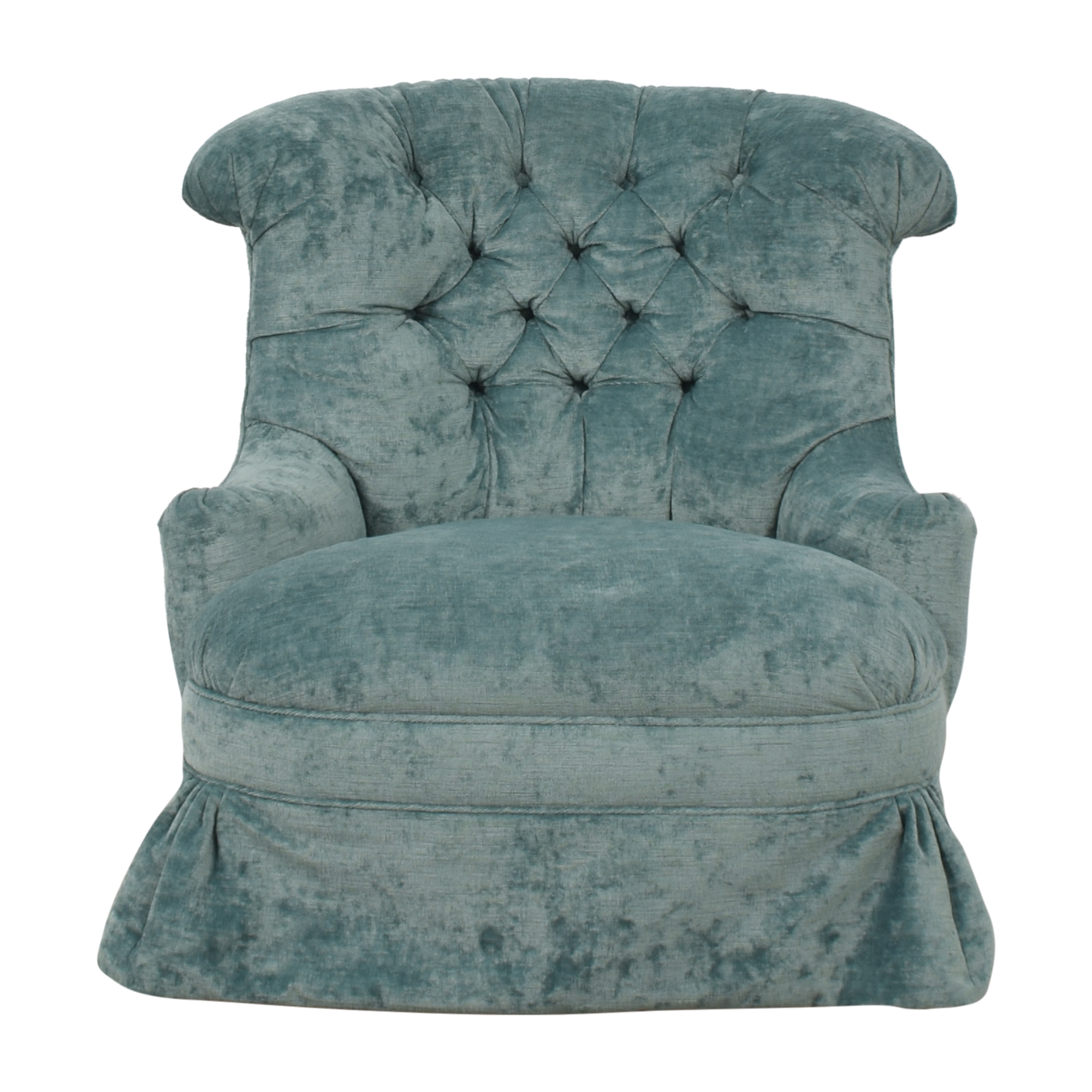 Hickory White Hickory White Tufted Swivel Chair on sale