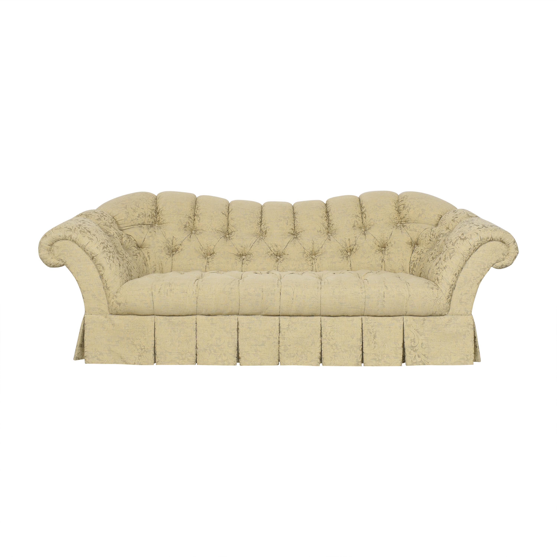 Hickory White Hickory White Tufted Flared Arm Sofa Classic Sofas