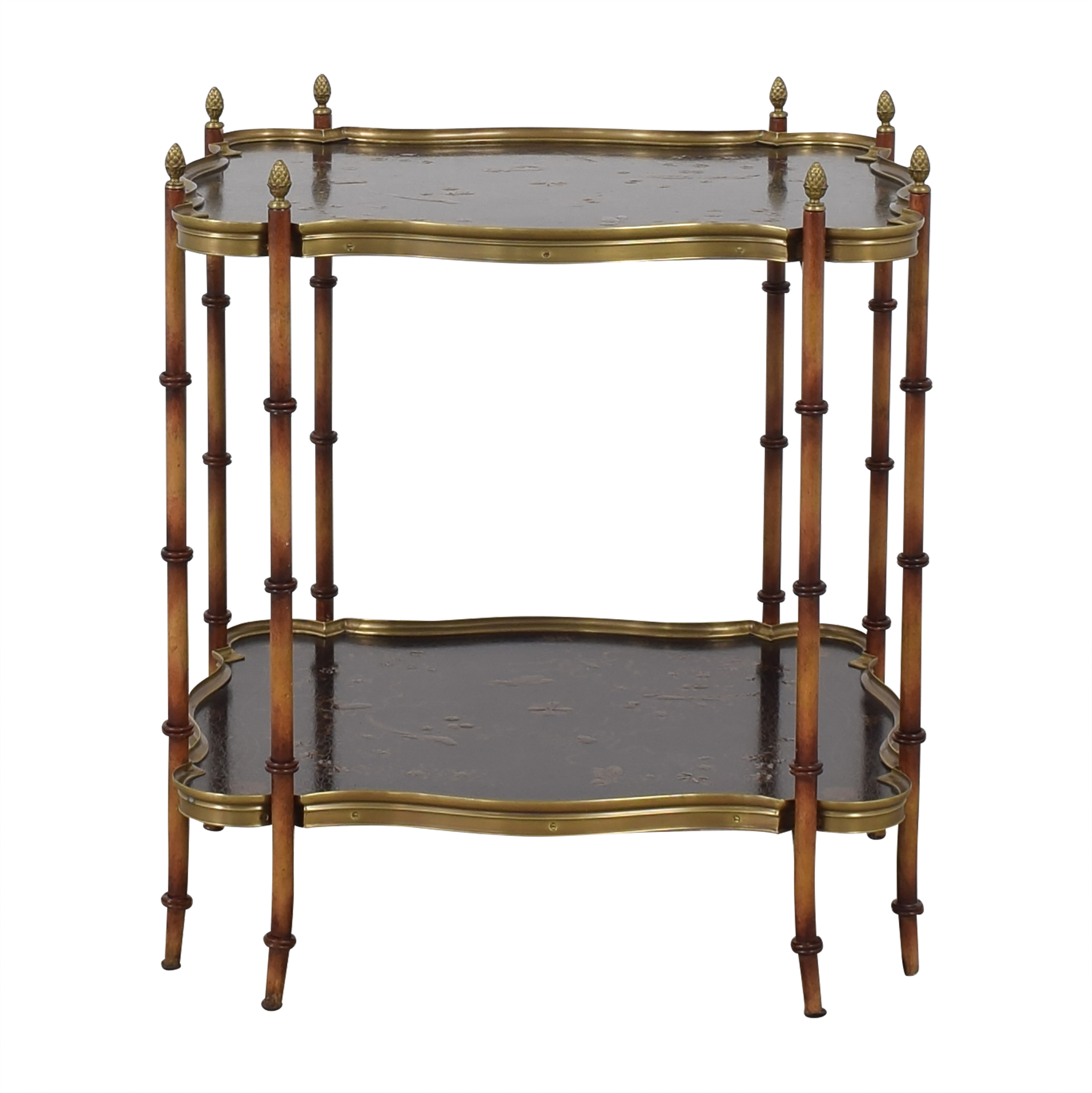 Hickory White Hickory White Decorative Two Tiered Side Table