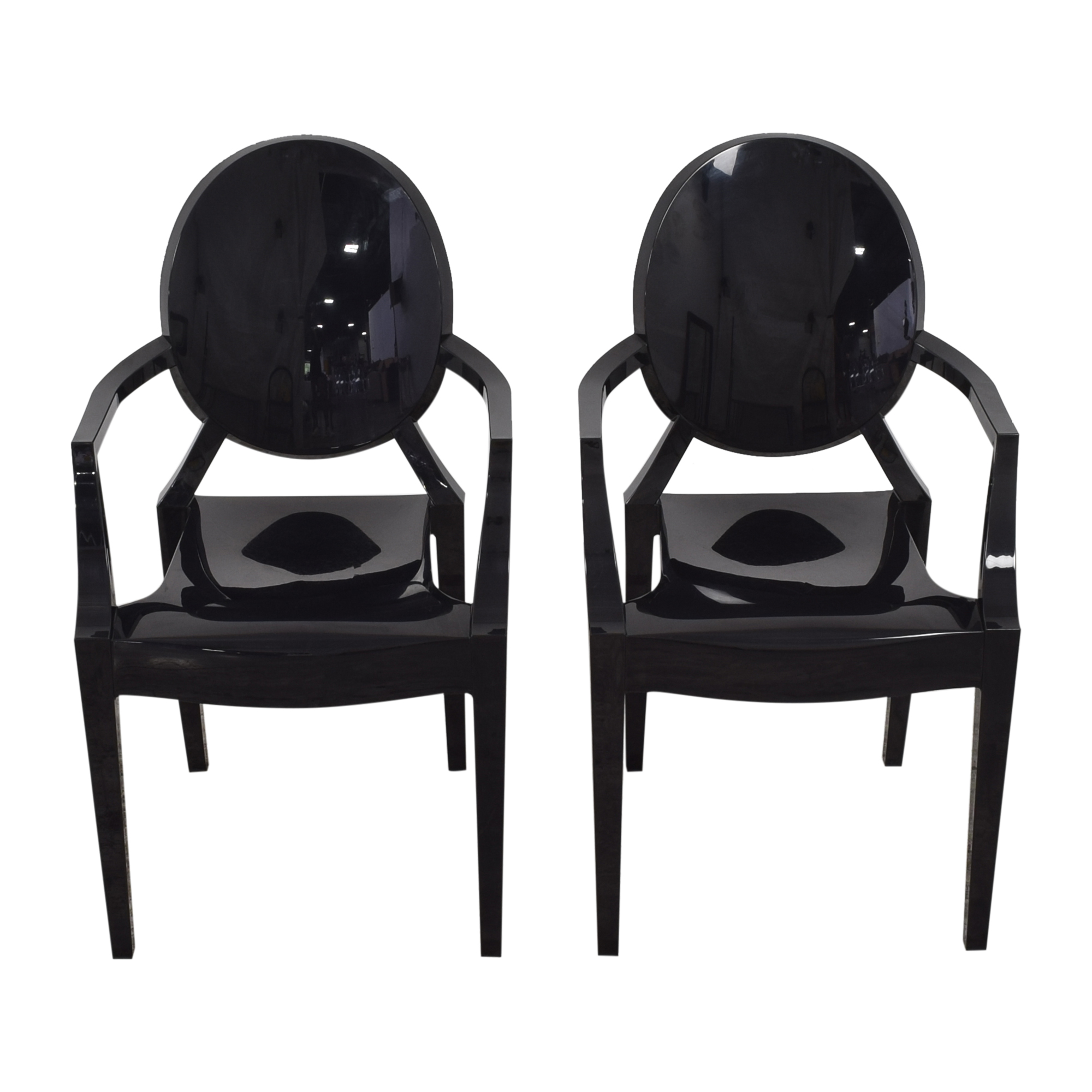 Kartell Kartell Louis Ghost Armchairs ma