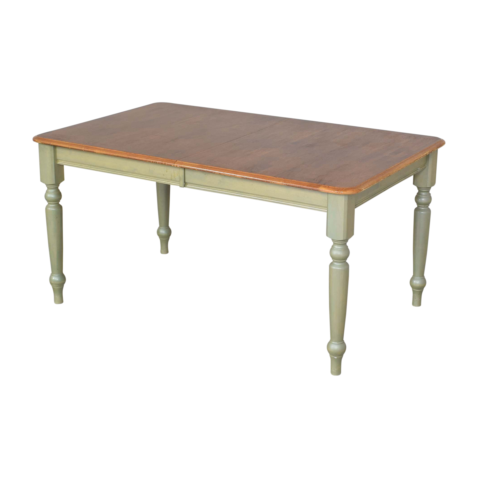 Canadel Canadel Farmhouse Dining Table brown & green