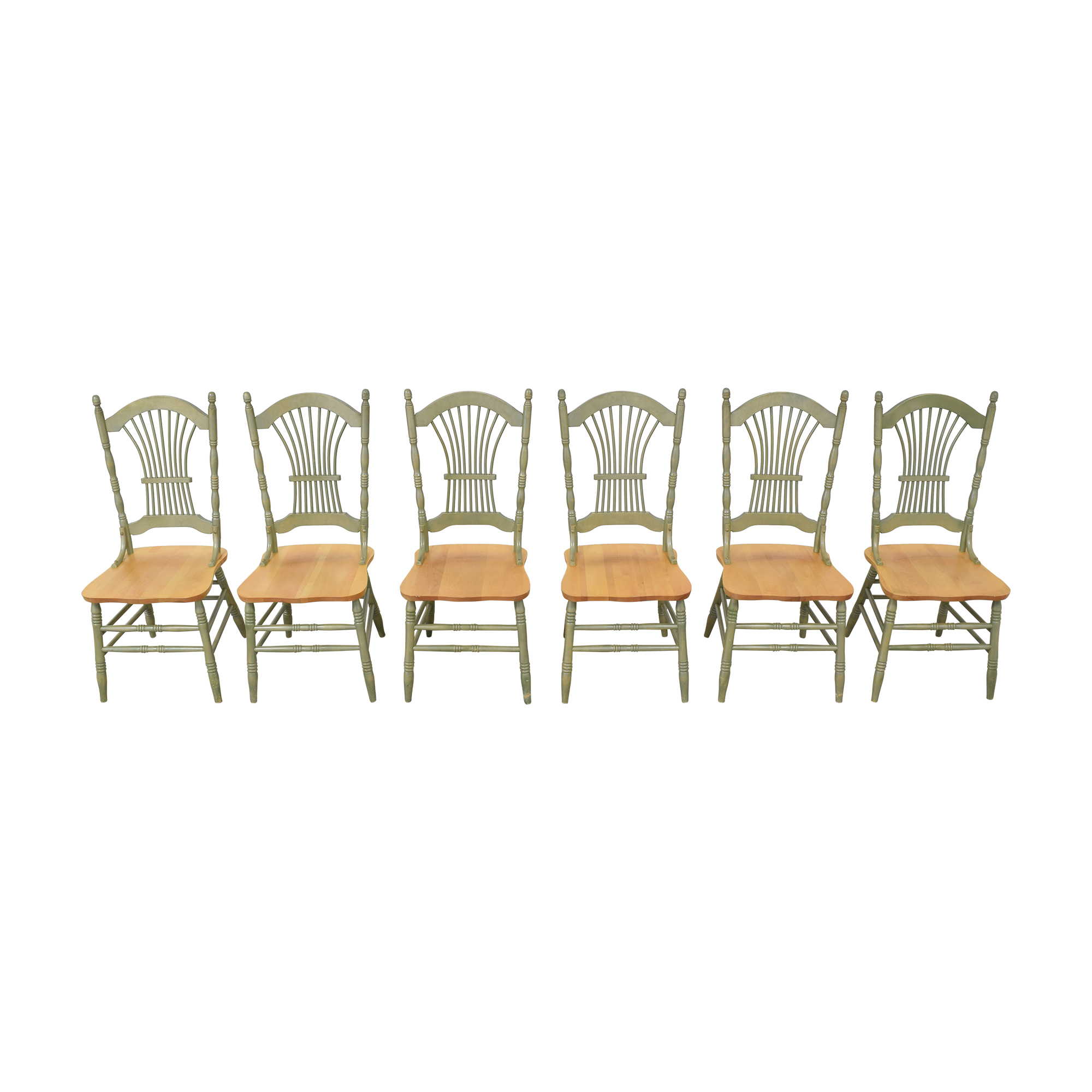 Canadel Canadel Sheaf Back Dining Chairs ma