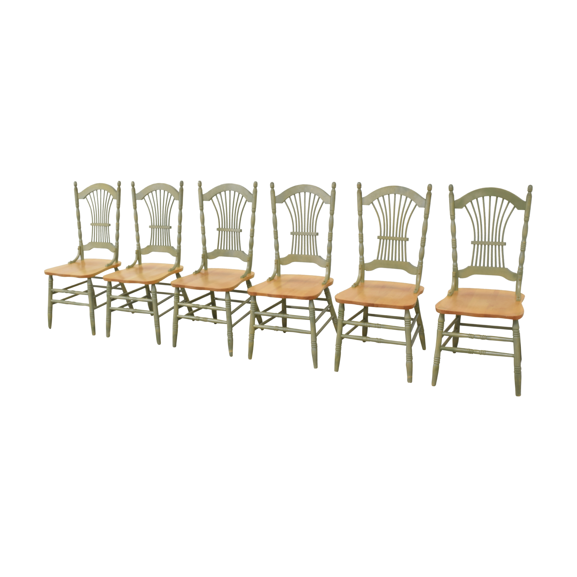 Canadel Canadel Sheaf Back Dining Chairs for sale