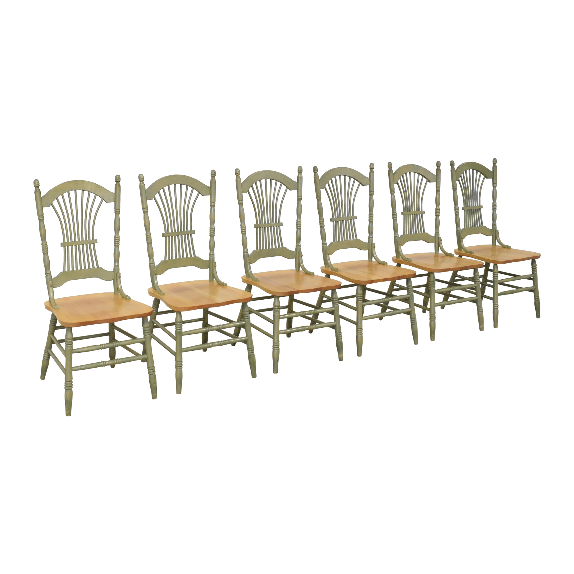 Canadel Canadel Sheaf Back Dining Chairs on sale
