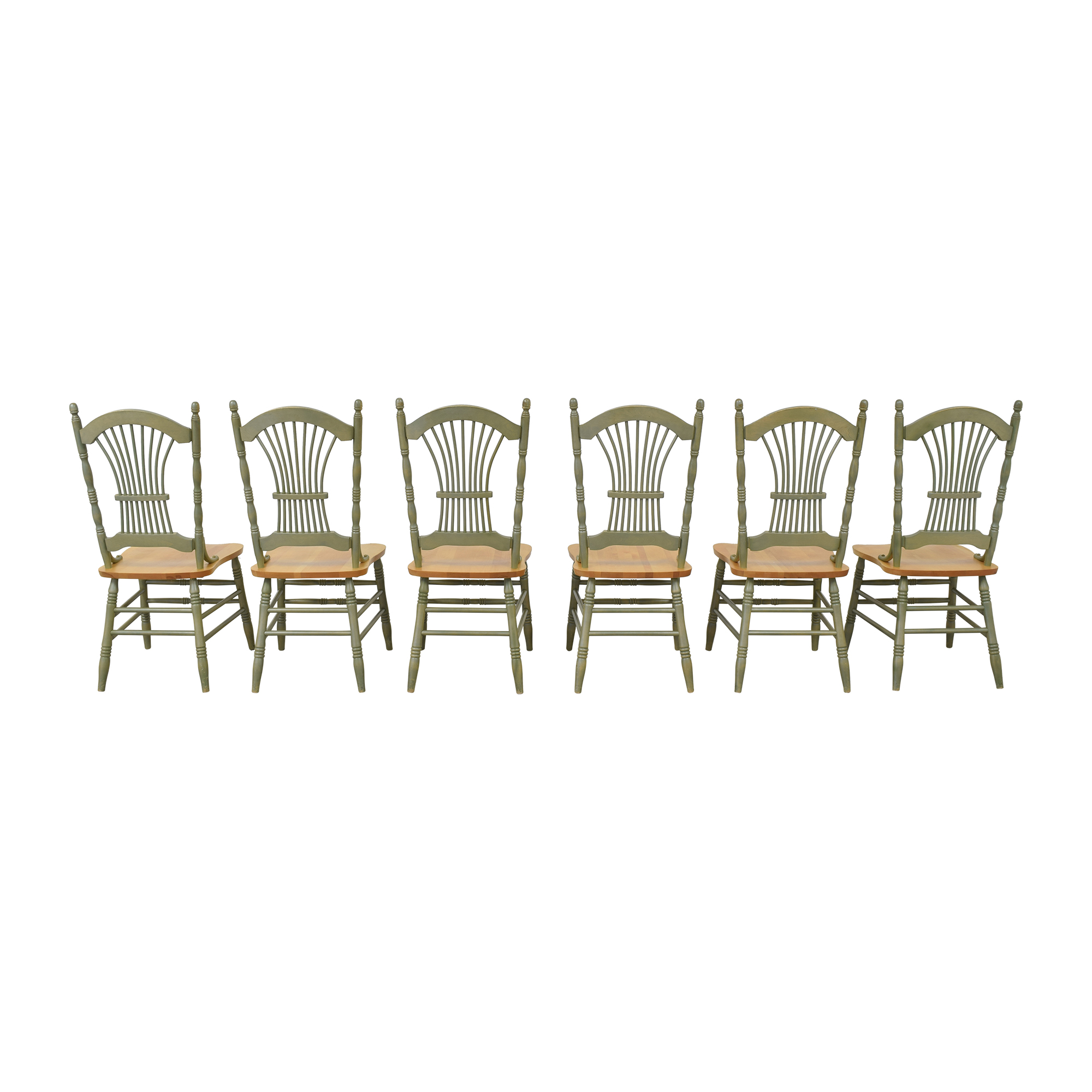Canadel Sheaf Back Dining Chairs / Chairs