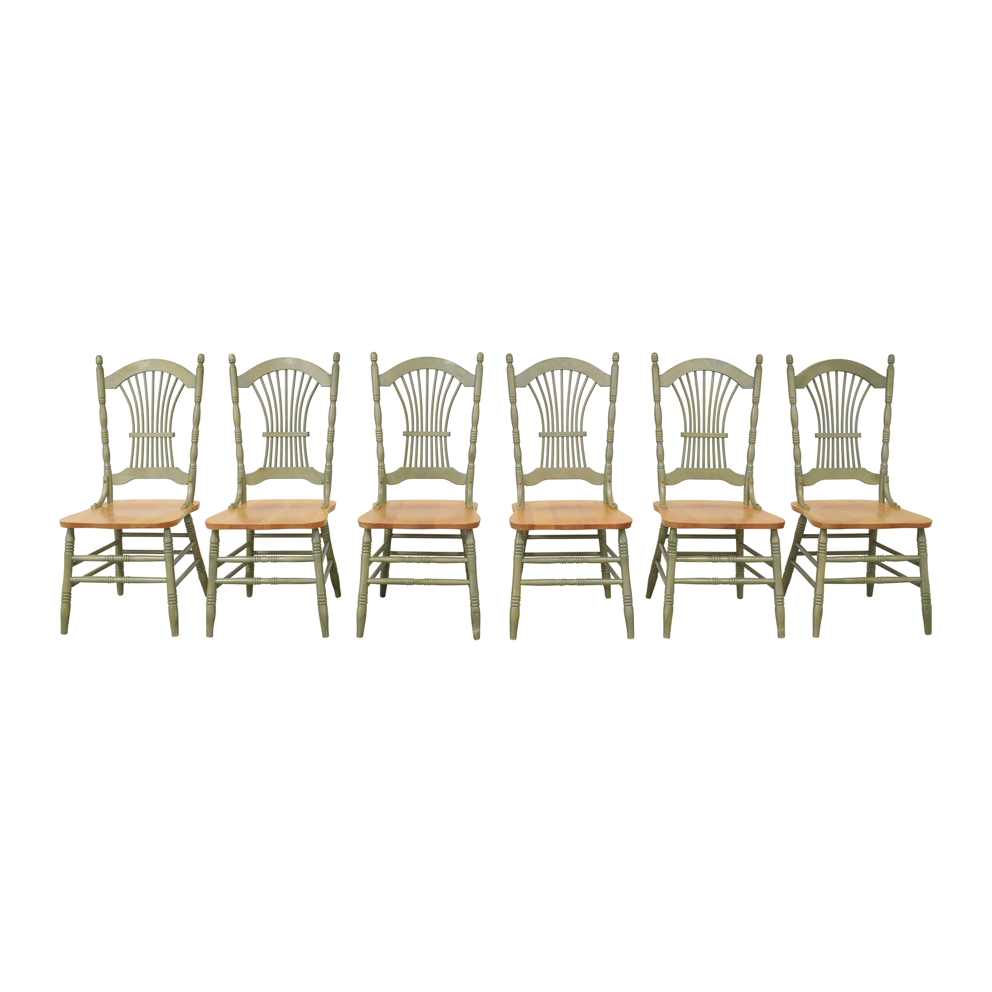 Canadel Canadel Sheaf Back Dining Chairs nyc