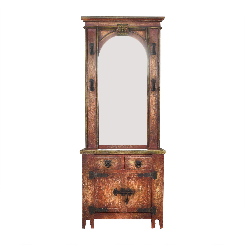 Entryway Cabinet with Mirror ct
