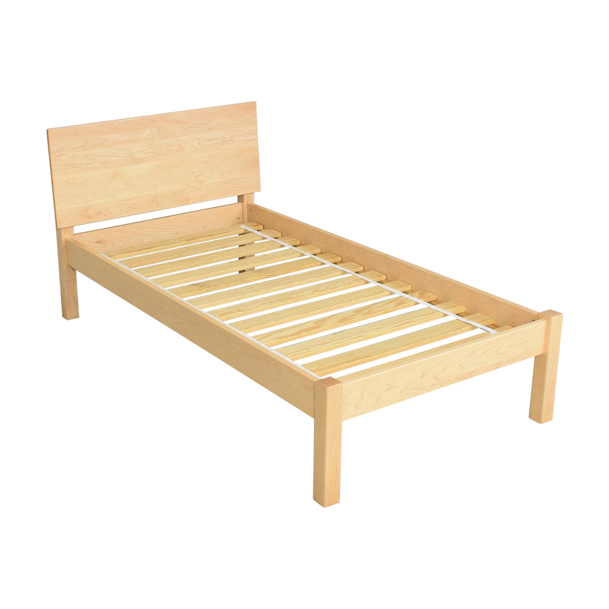 buy Room & Board Pogo Twin Bed Room & Board Bed Frames