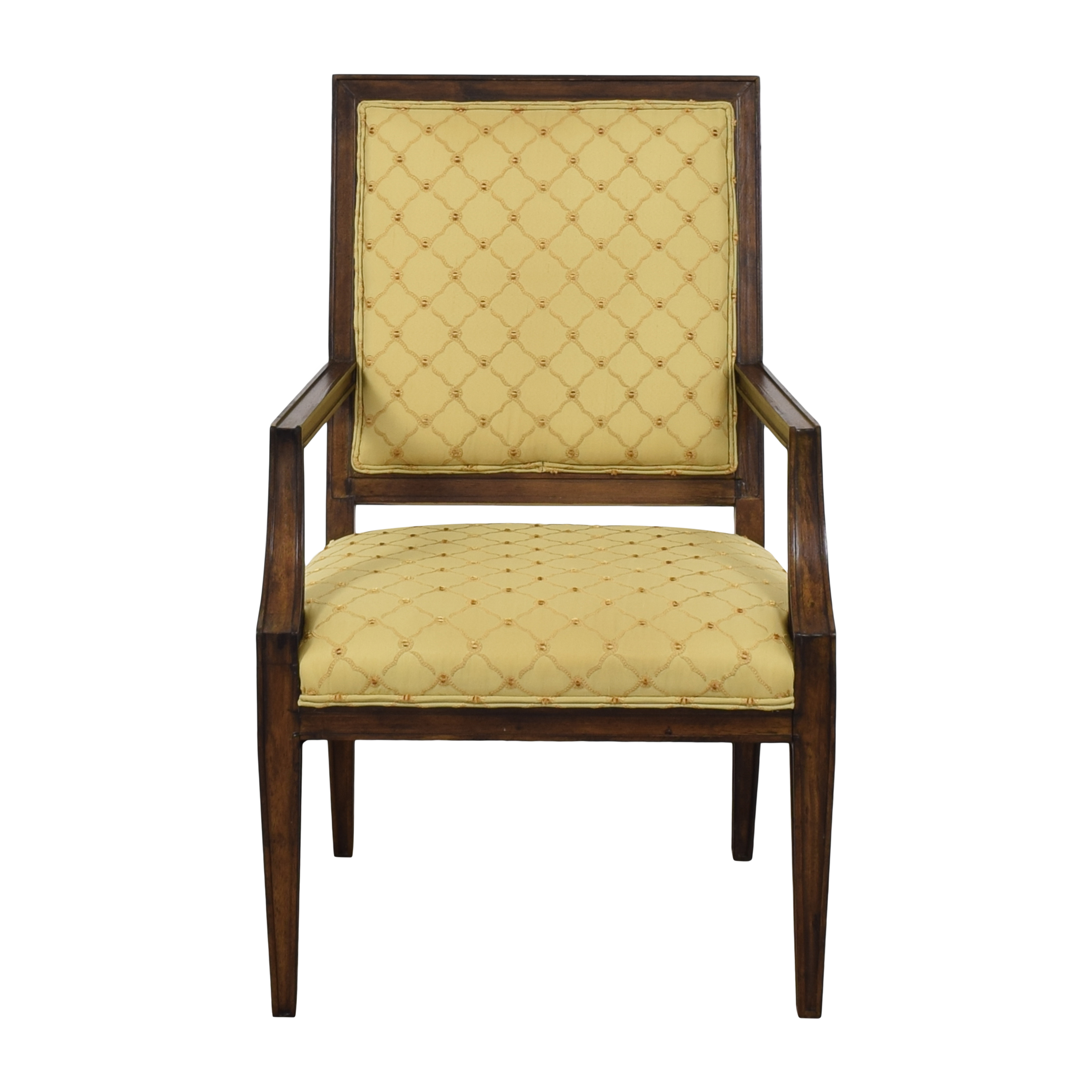 Vintage French-Style Square Back Arm Chair  price