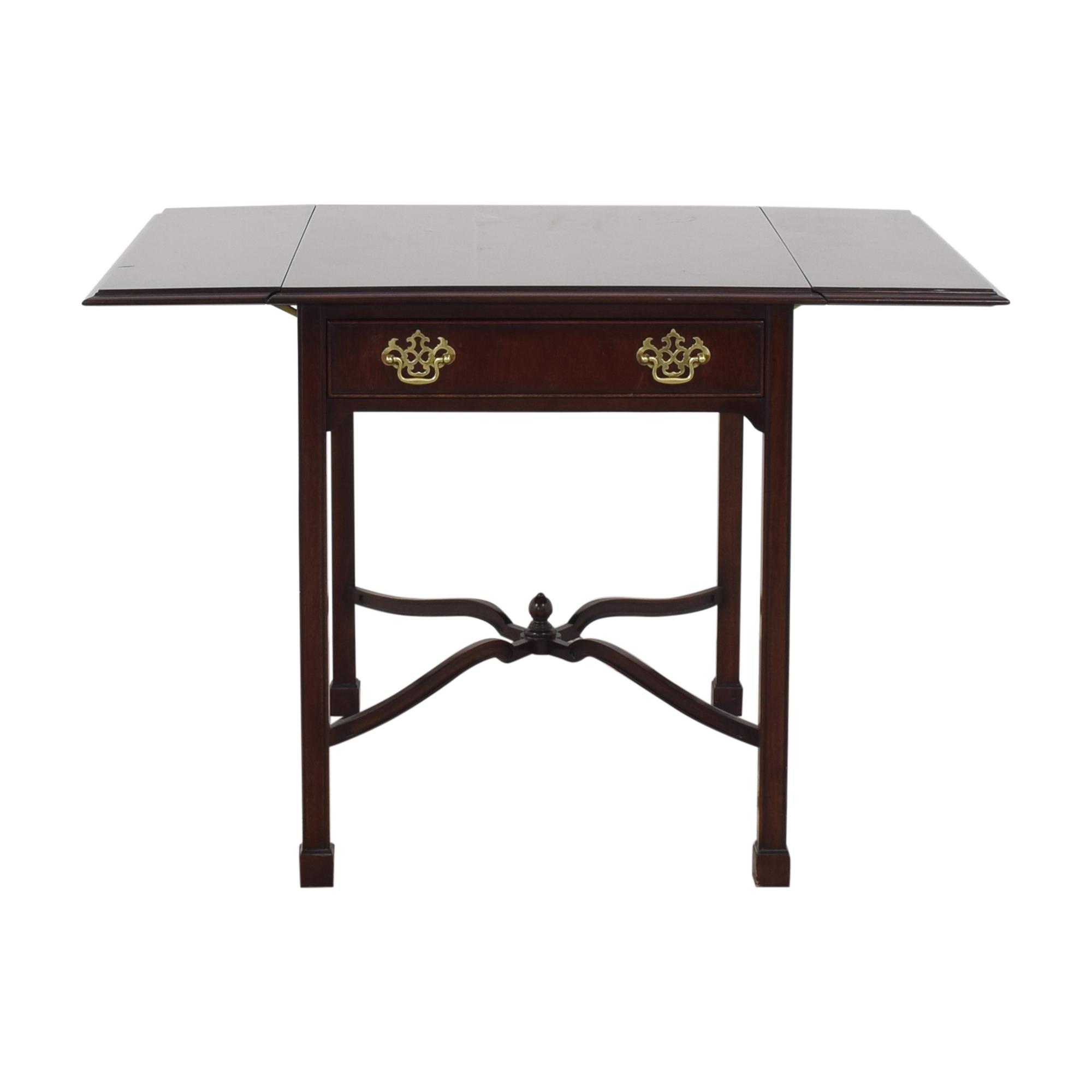 Kindel Kindel Drop-Leaf End Table