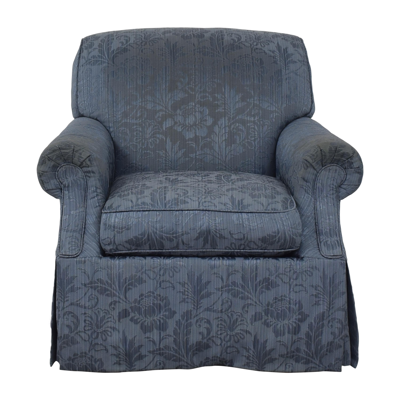 Custom Skirted Swivel Chair sale
