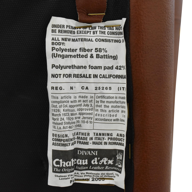 Bloomingdale's Bloomingdale's Roll Arm Nailhead Chair for sale