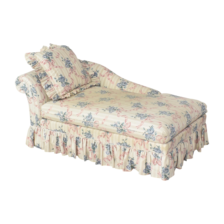 shop Ethan Allen Traditional Classics Chaise Lounge Ethan Allen Chaises