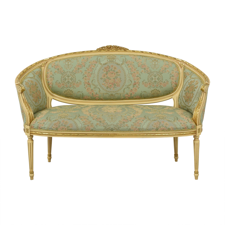 Custom Louis XVI Style Settee second hand