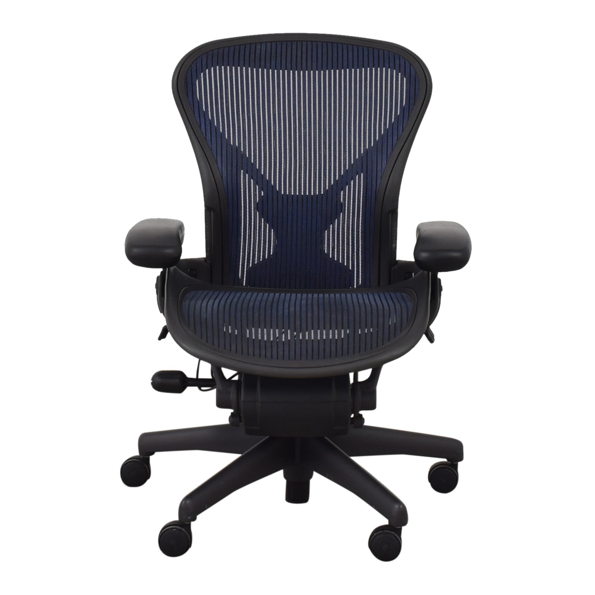 buy Herman Miller Aeron Chair Size A  Herman Miller