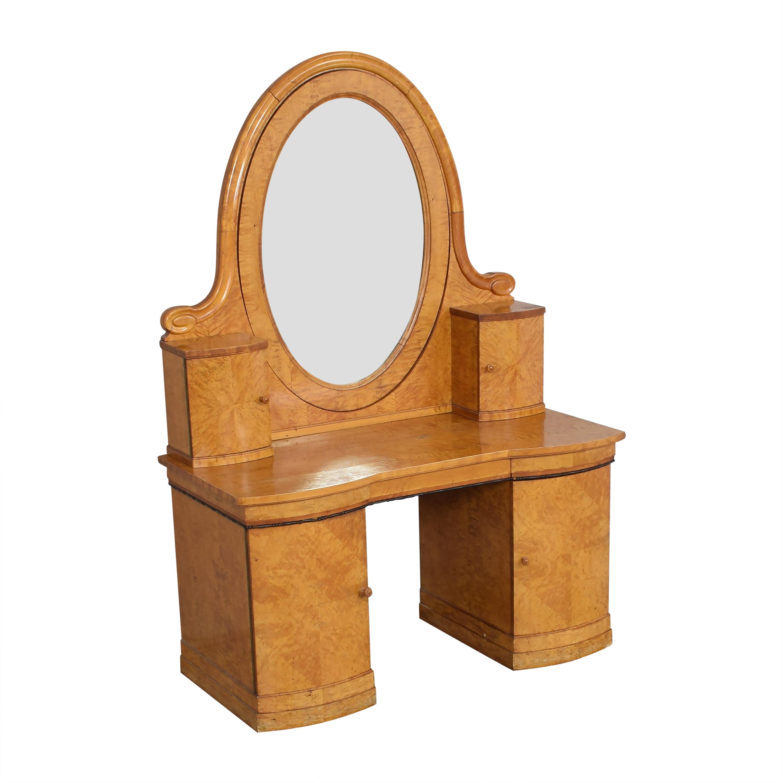 Biedermeier-Style Vanity Table ma
