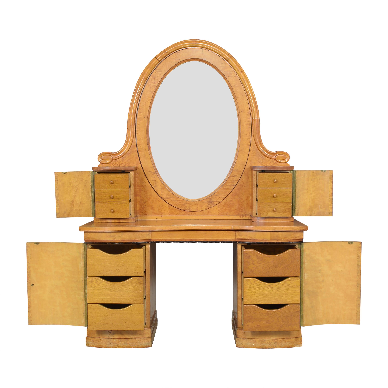 Biedermeier-Style Vanity Table