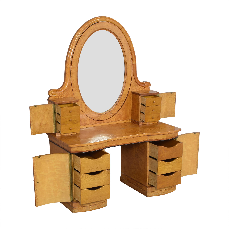 Biedermeier-Style Vanity Table / Home Office Desks