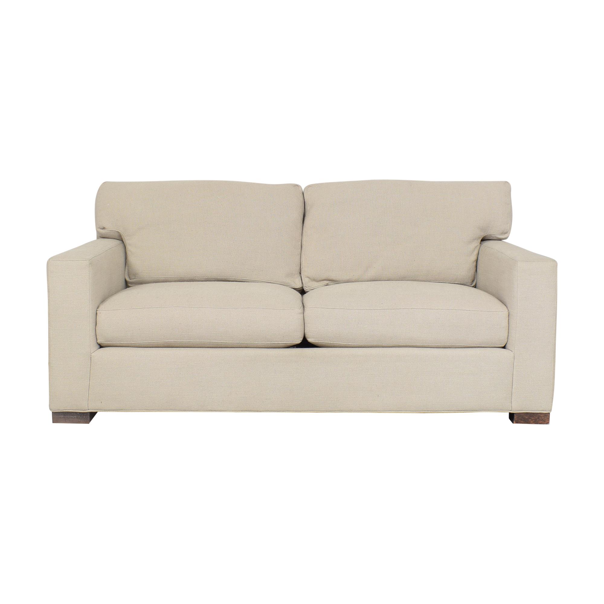 Crate & Barrel Axis Apartment Sofa sale