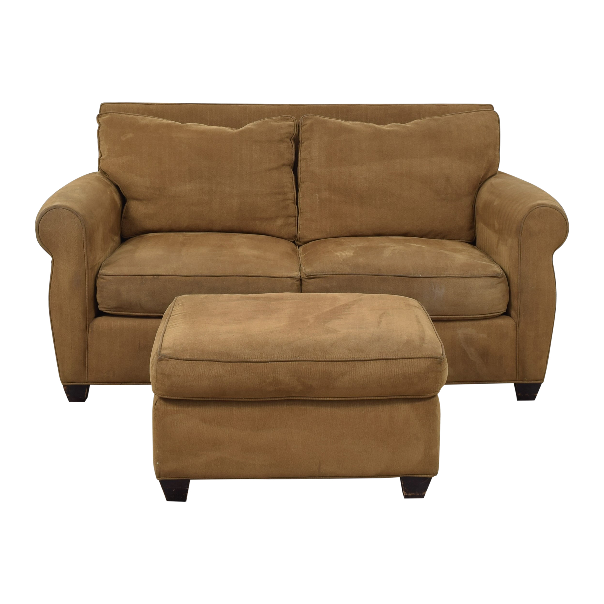 Domain Home Domain Home Loveseat and Ottoman nyc