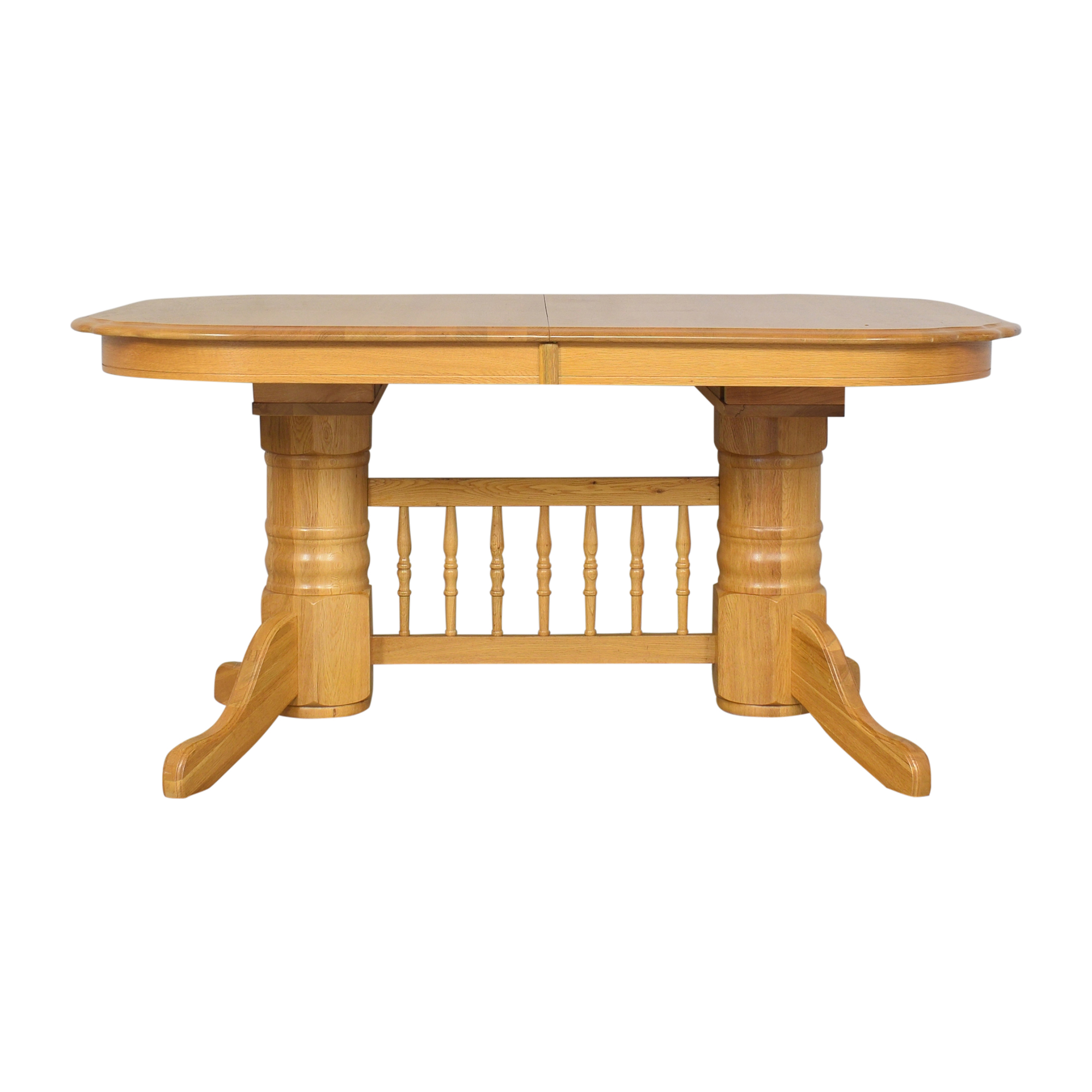Trestle Extendable Dining Table ma