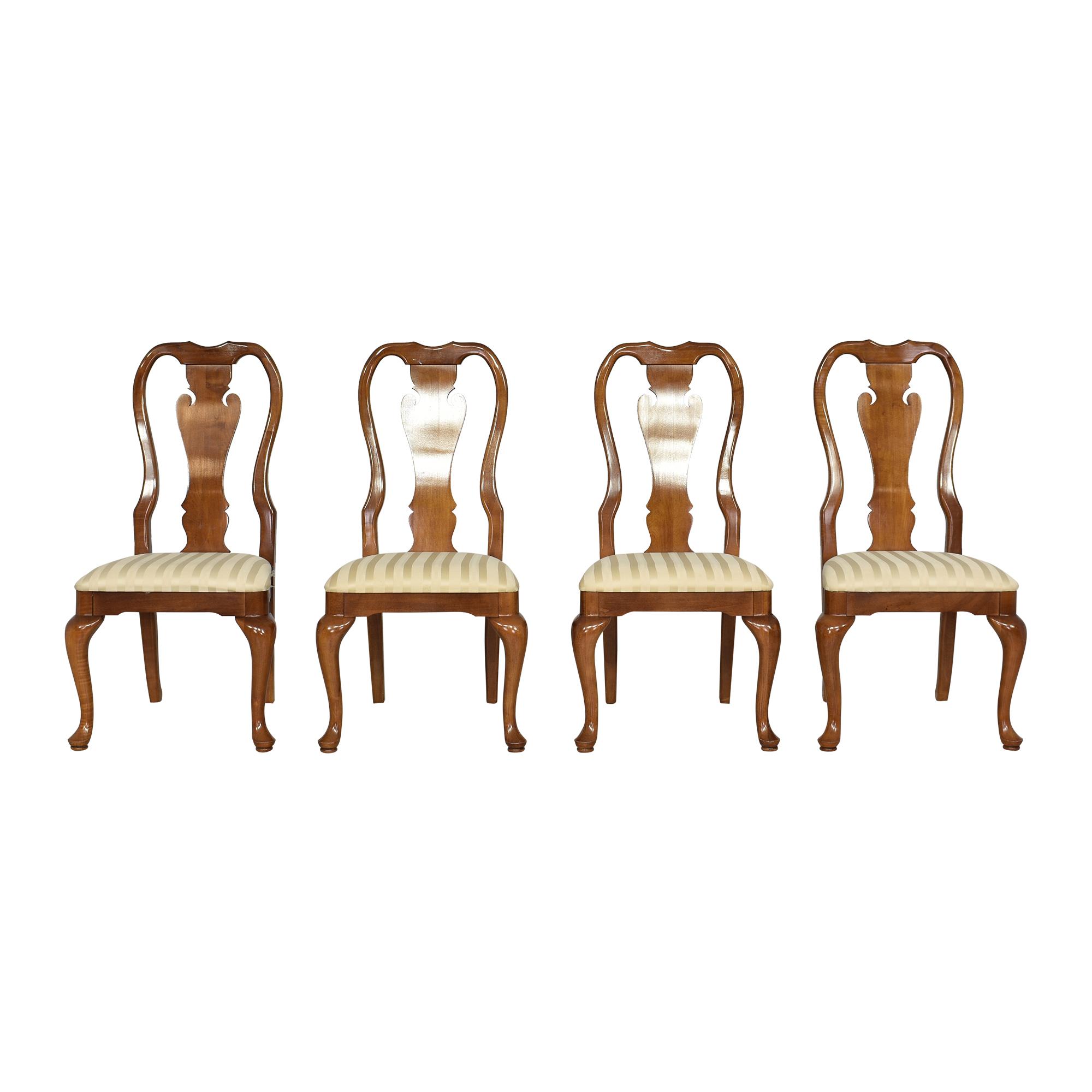 Thomasville Thomasville Queen Anne Dining Chairs brown