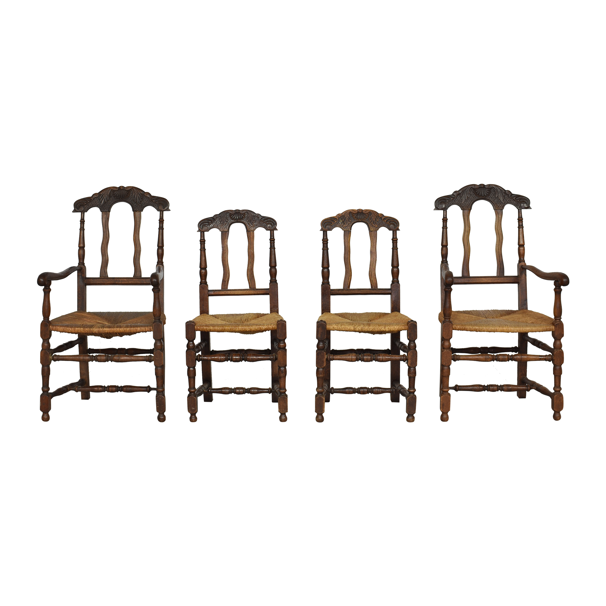 Cane Seat Dining Chairs dimensions