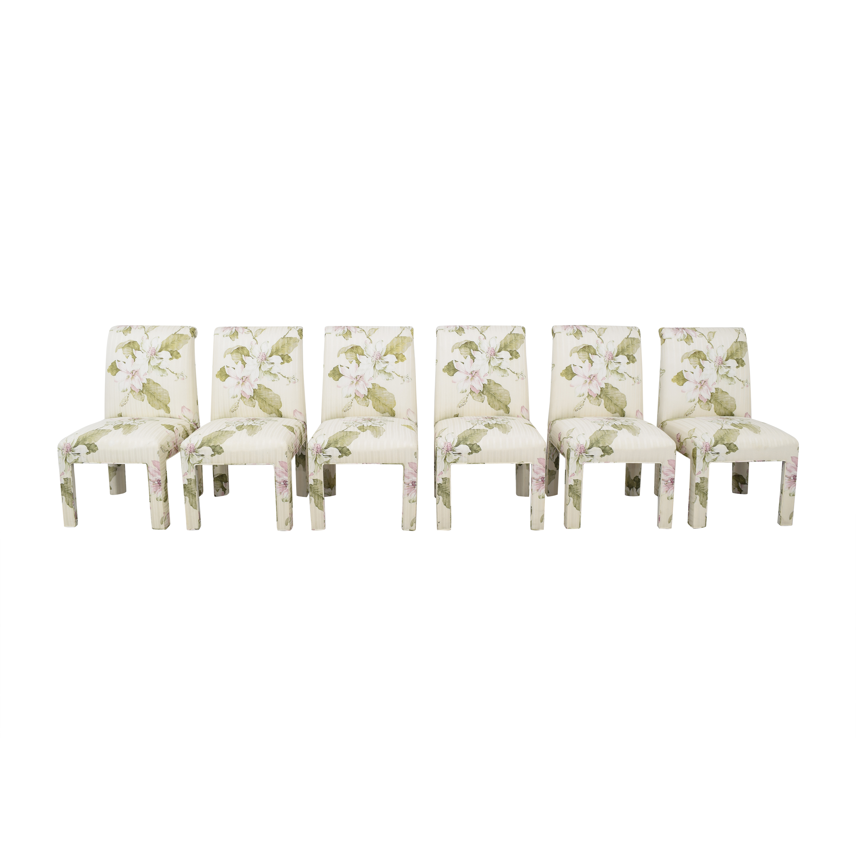 Wayfair Wayfair Floral Upholstered Dining Chairs on sale