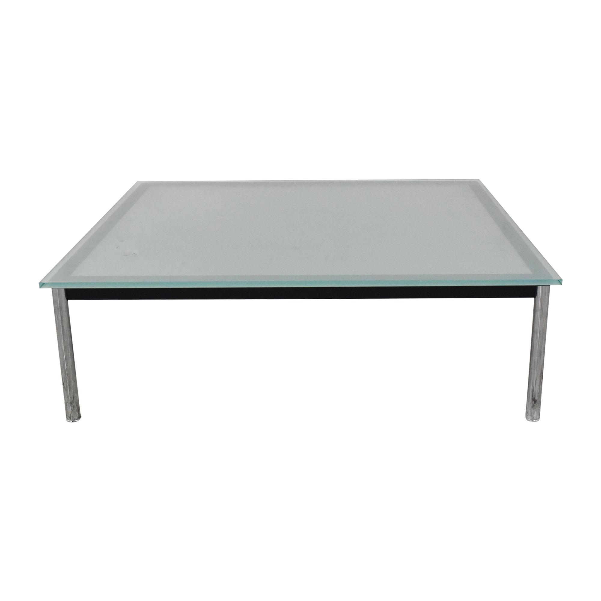 Palazetti Palazetti Le Corbusier-Style Square Coffee Table