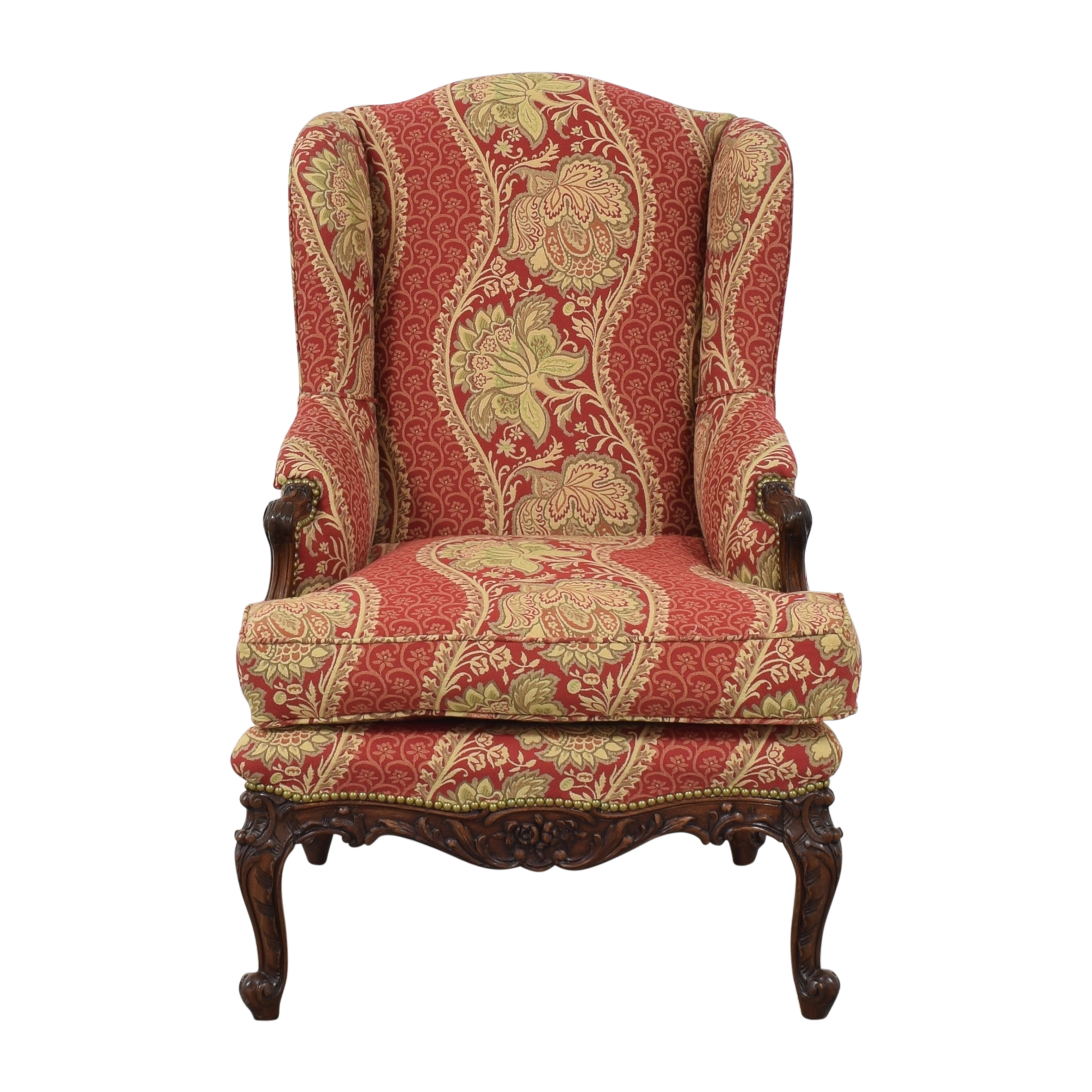 Custom Louis XV Wing Chair / Accent Chairs