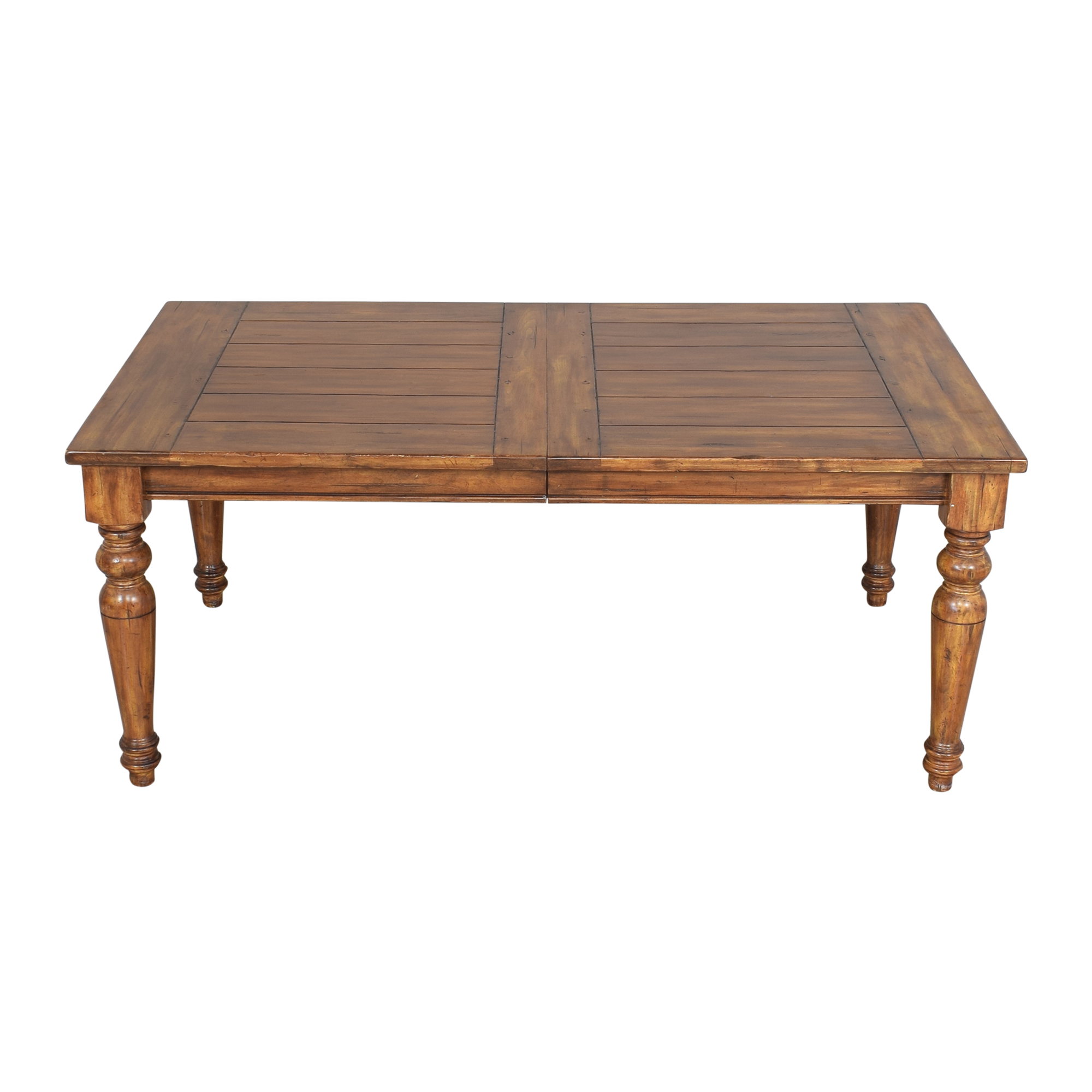 Rustic Extendable Dining Table ct